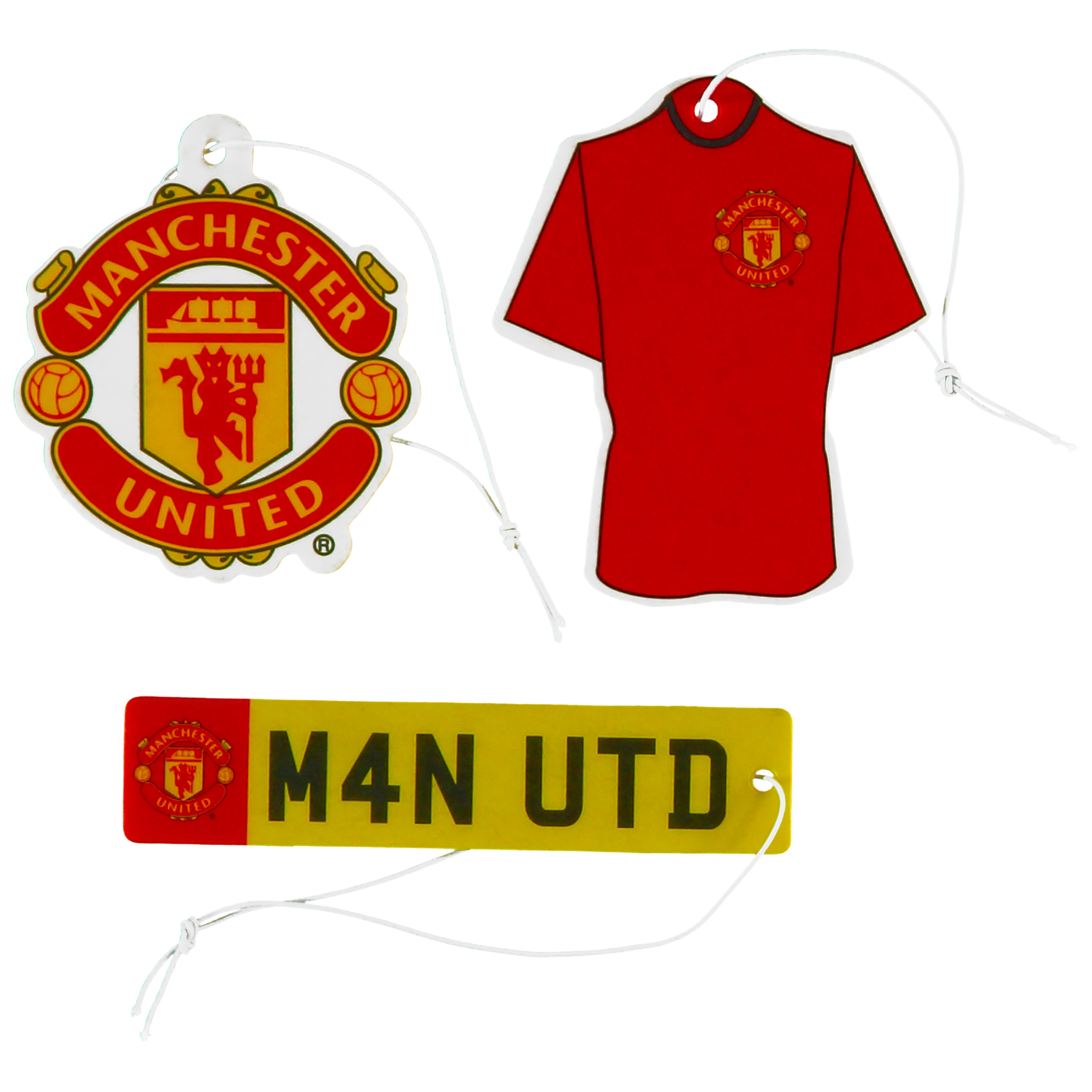 Manchester United Air Fresheners - 3 Pack