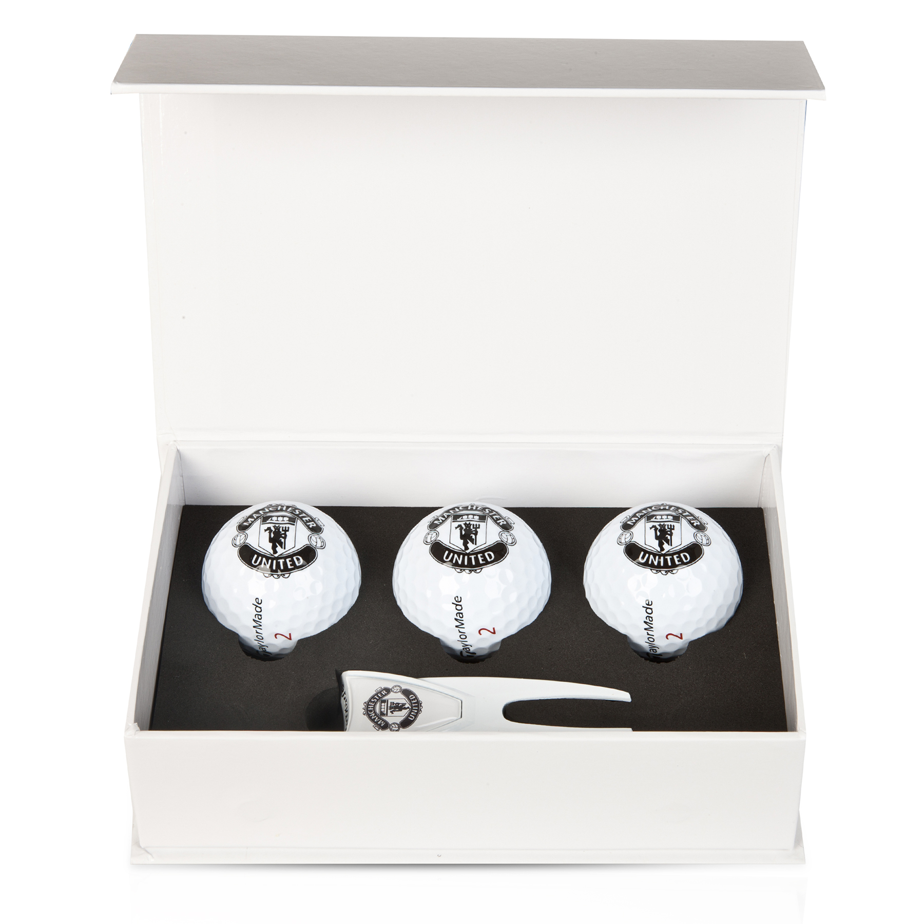 Manchester United Golf Gift Box - Small White