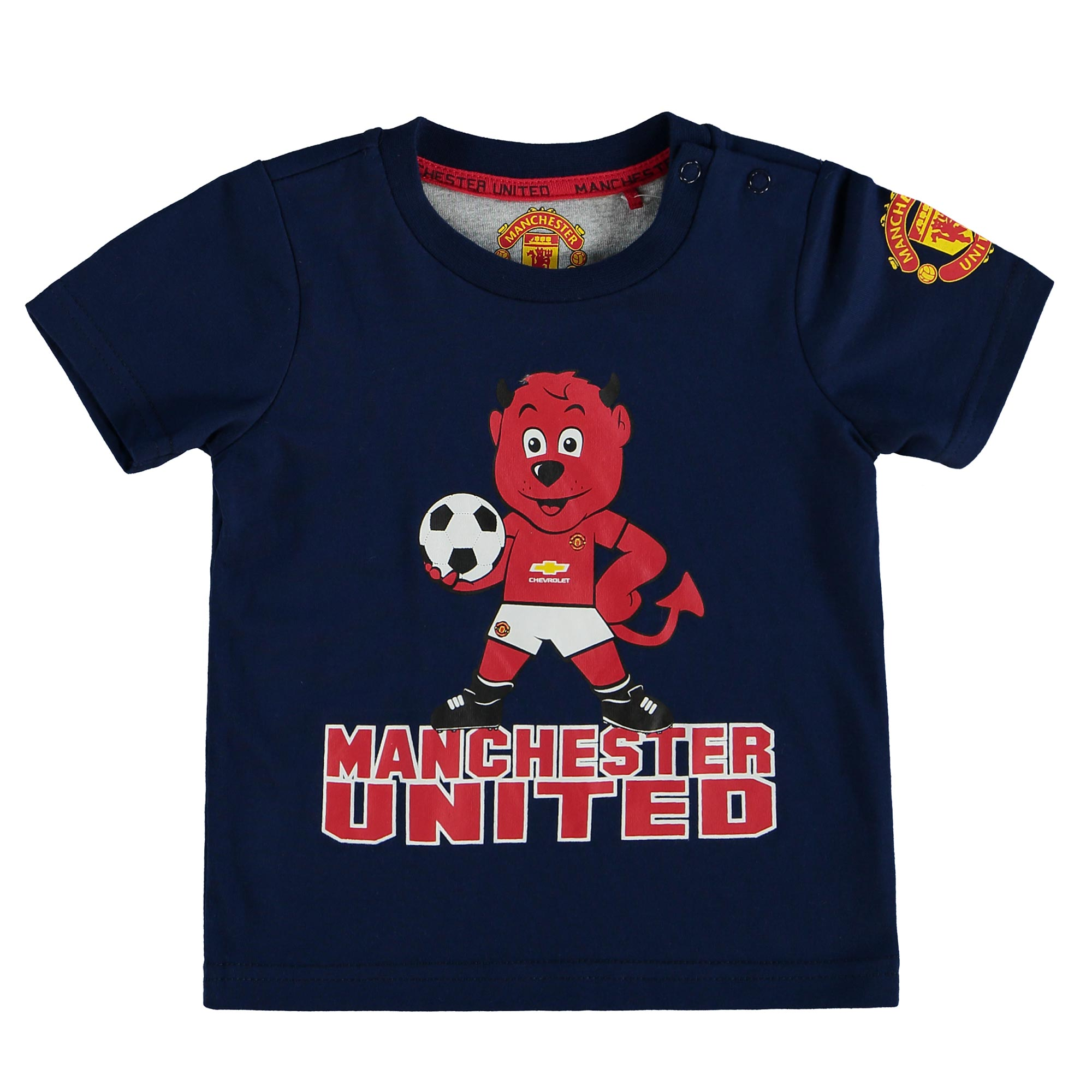 Manchester United Fred The Red T-Shirt - Navy - Baby