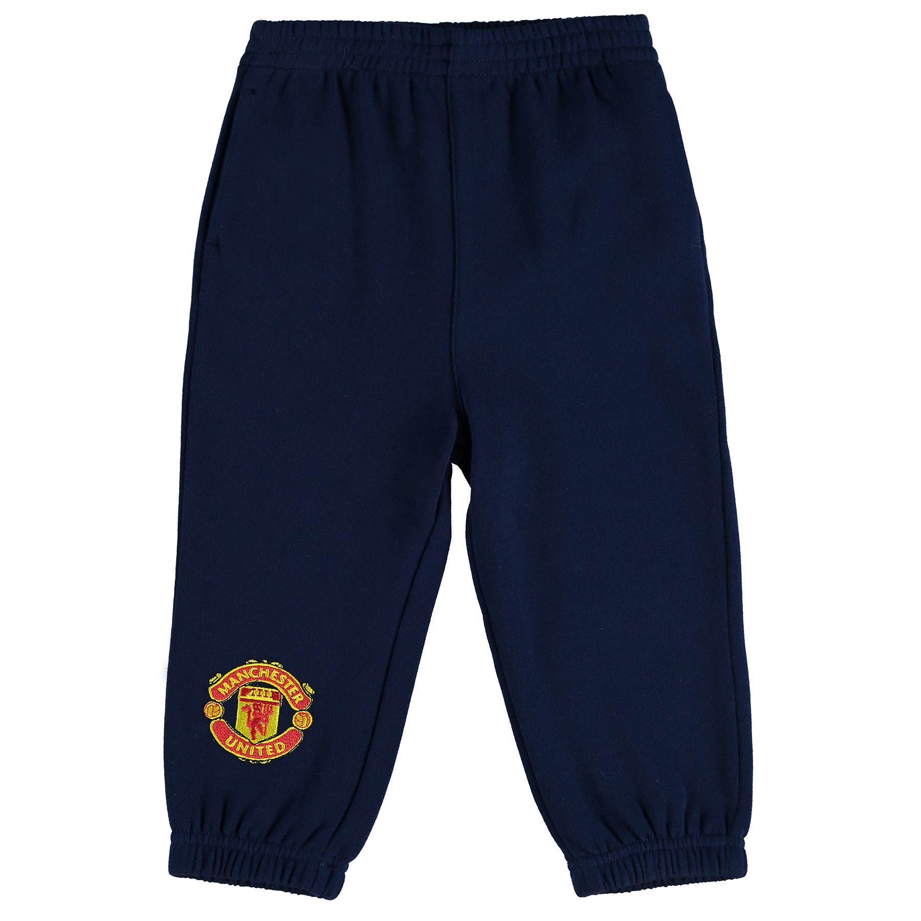 Manchester United Fleece Jog Pants - Navy - Baby