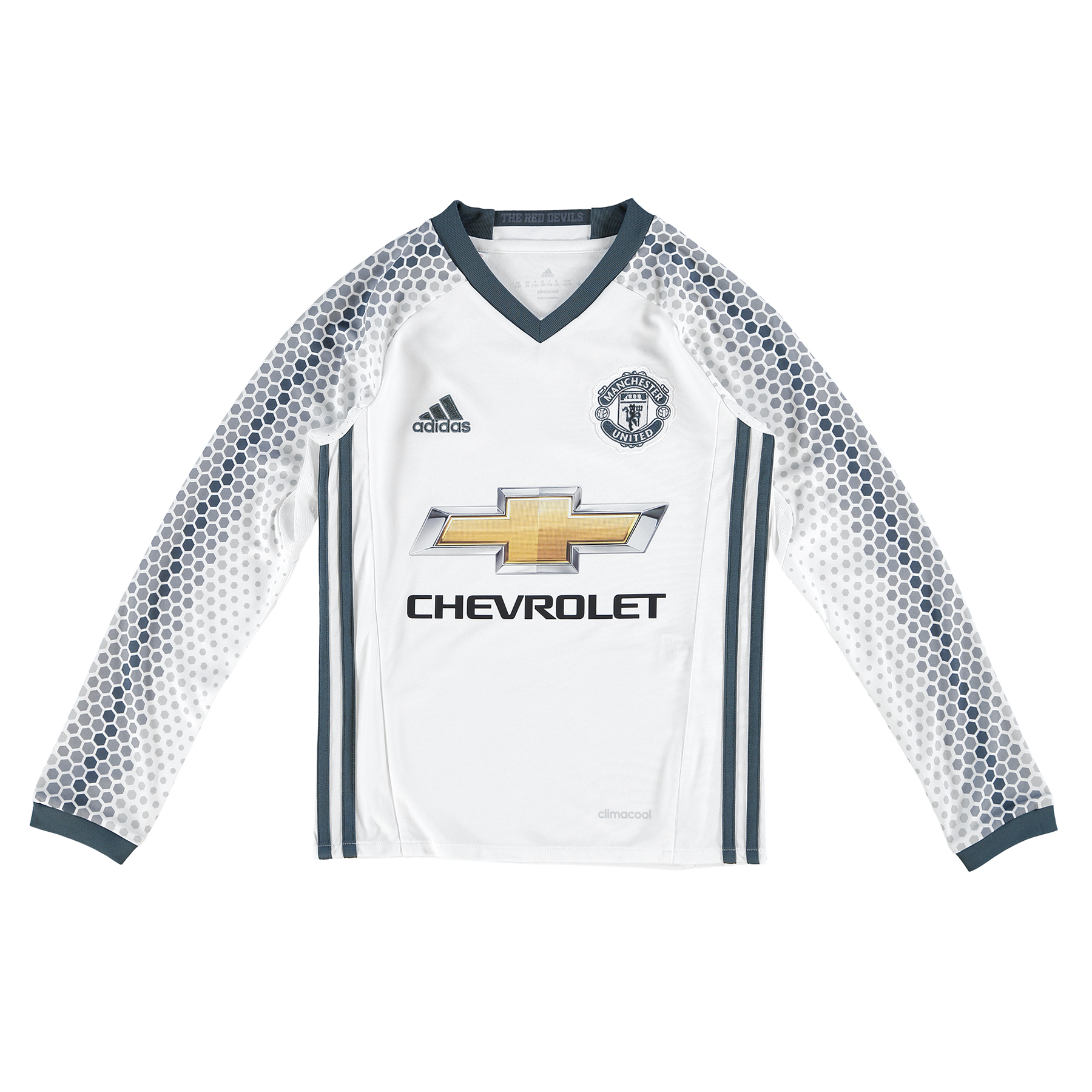 Manchester United Third Shirt 2016-17 - Kids - Long Sleeve