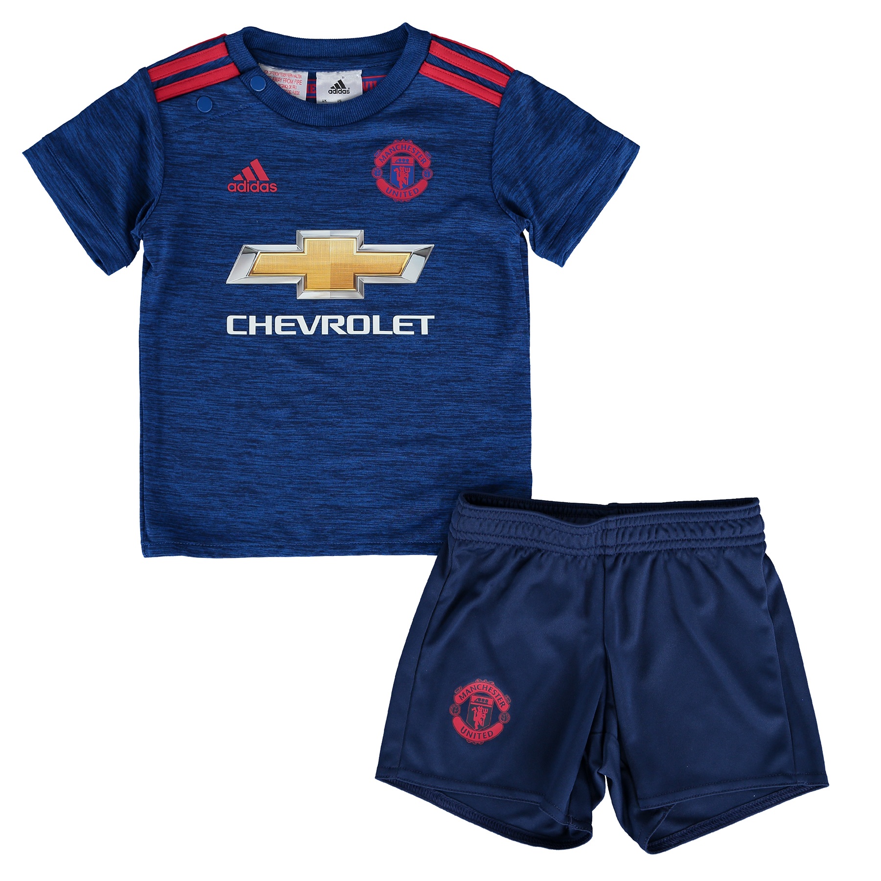 Manchester United Away Baby Kit 2016-17