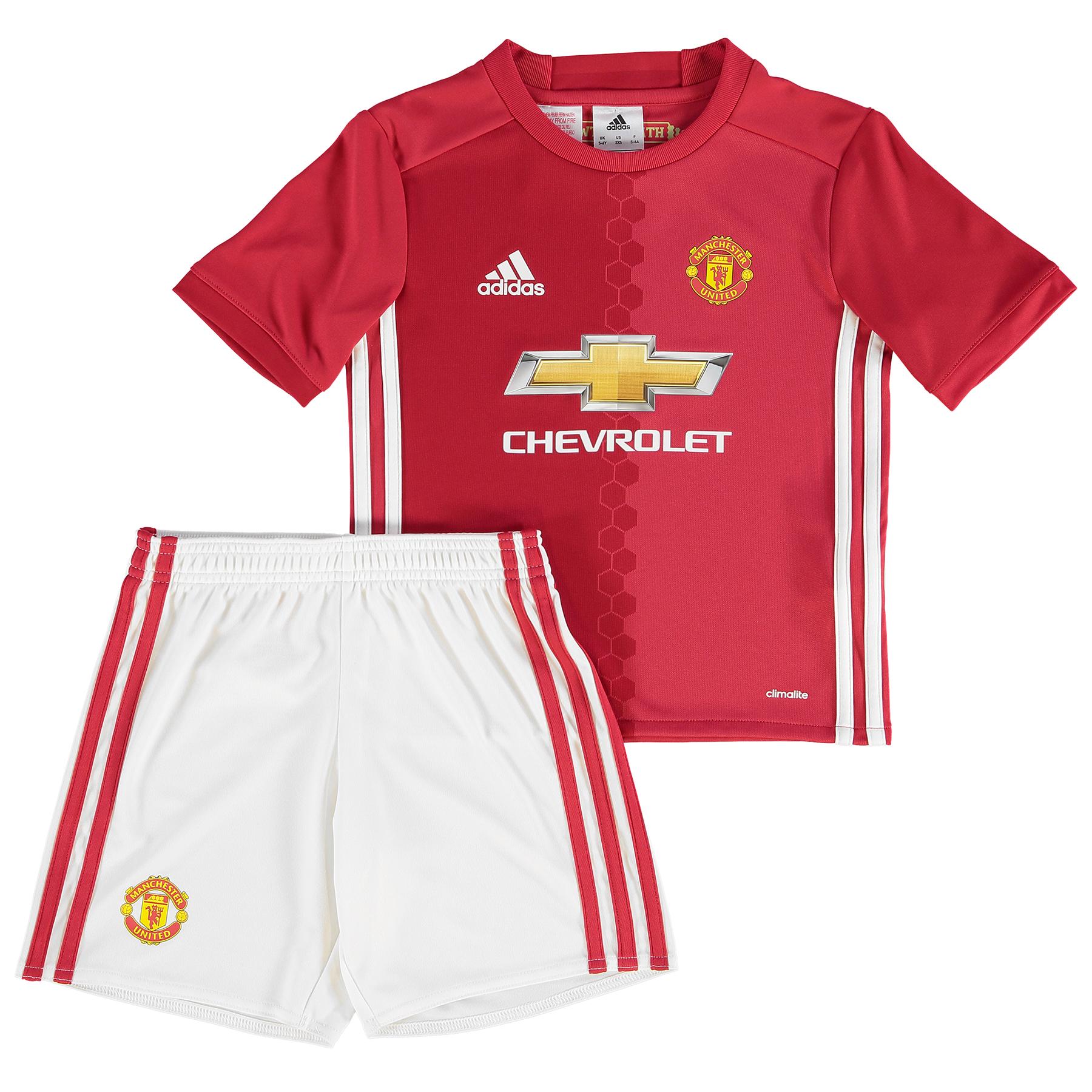 Manchester United Home Mini Kit 2016-17