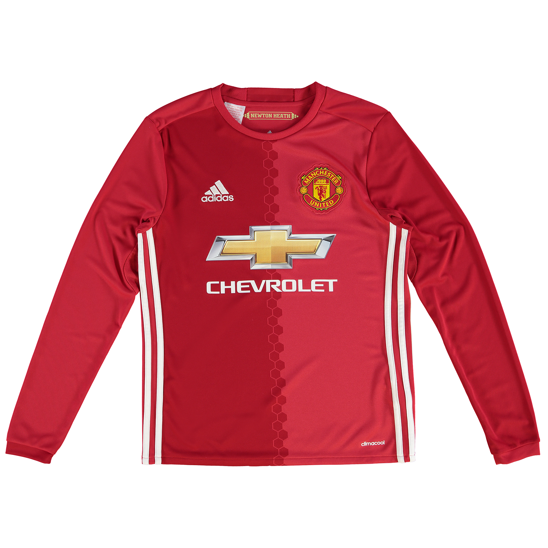 Manchester United Home Shirt 2016-17 - Kids - Long Sleeve