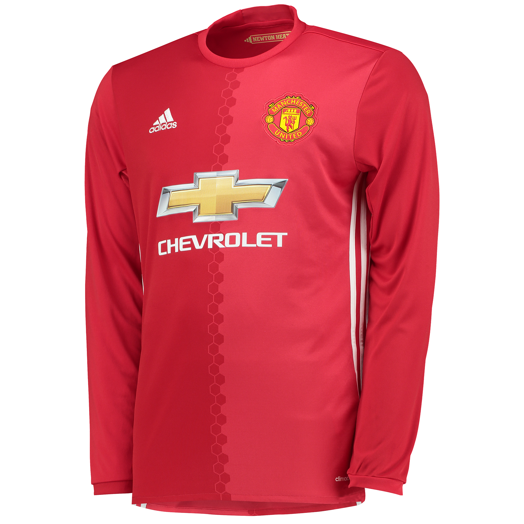 Manchester United Home Shirt 2016-17 - Long Sleeve