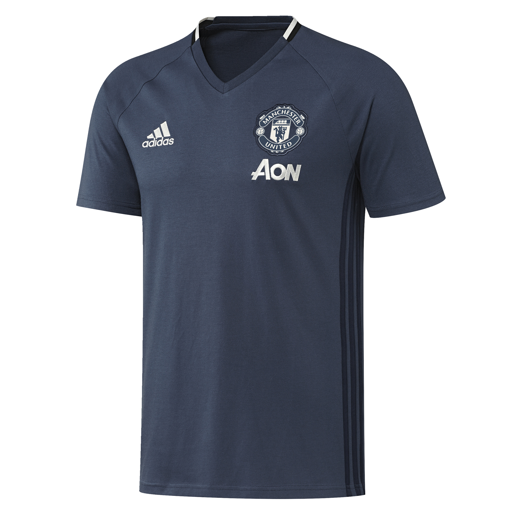 Manchester United Training T-Shirt - Blue - Kids