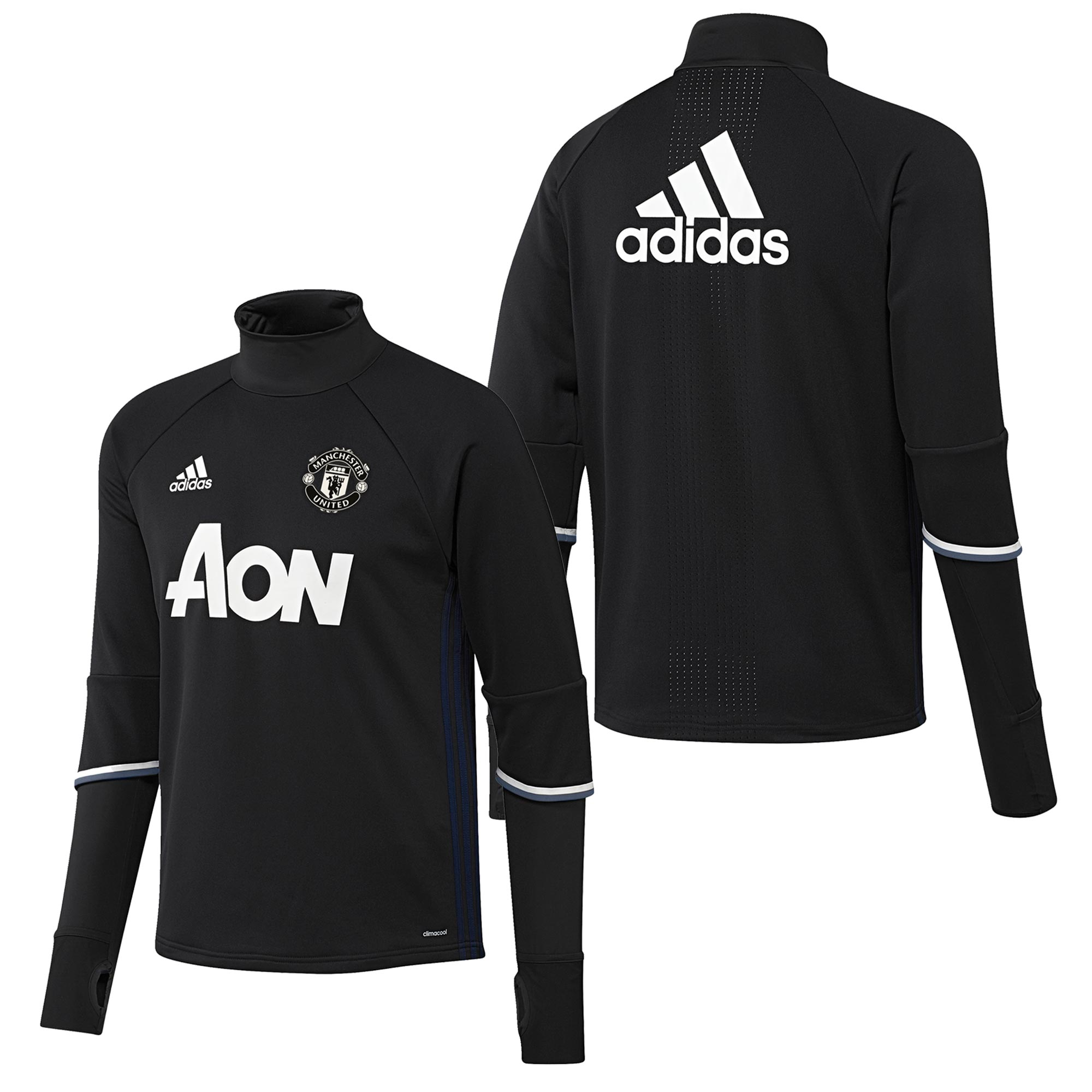 Manchester United Training Top - Black