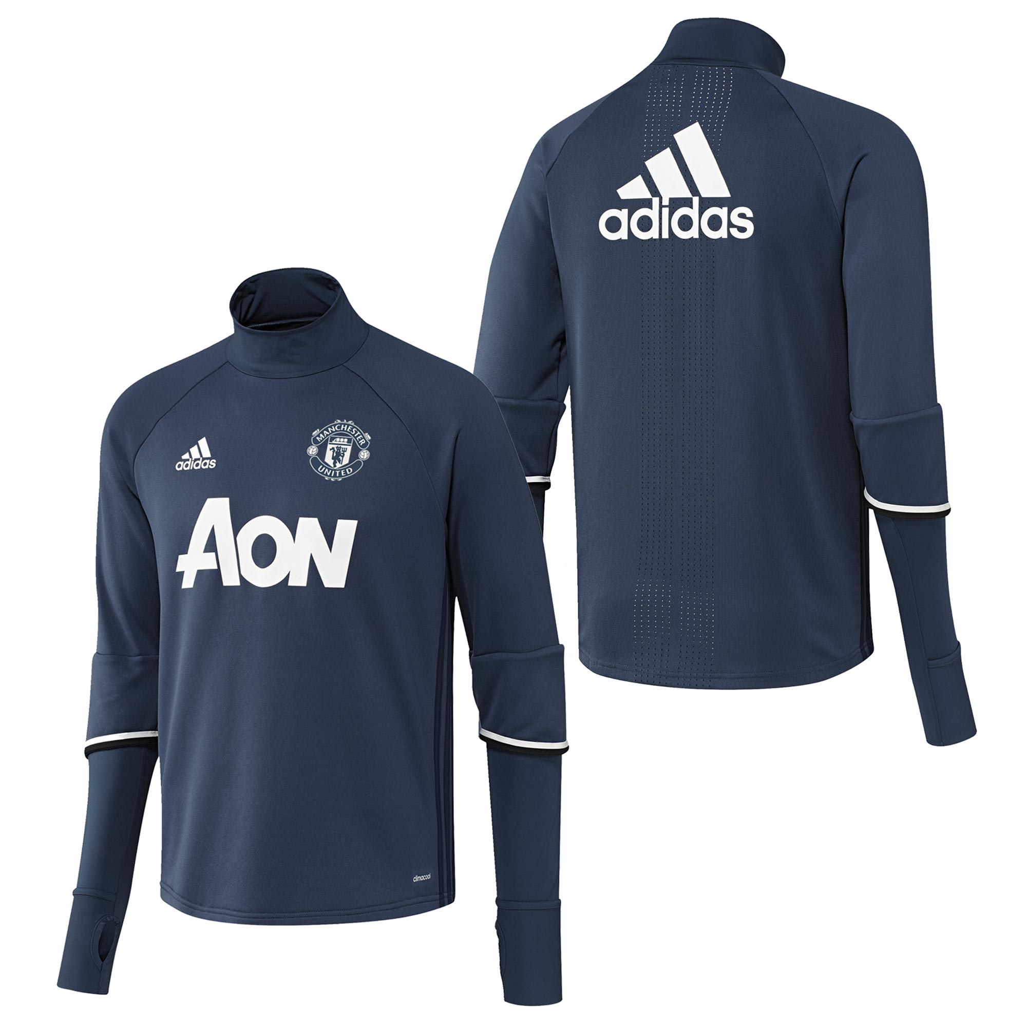 Manchester United Training Top - Blue - Kids