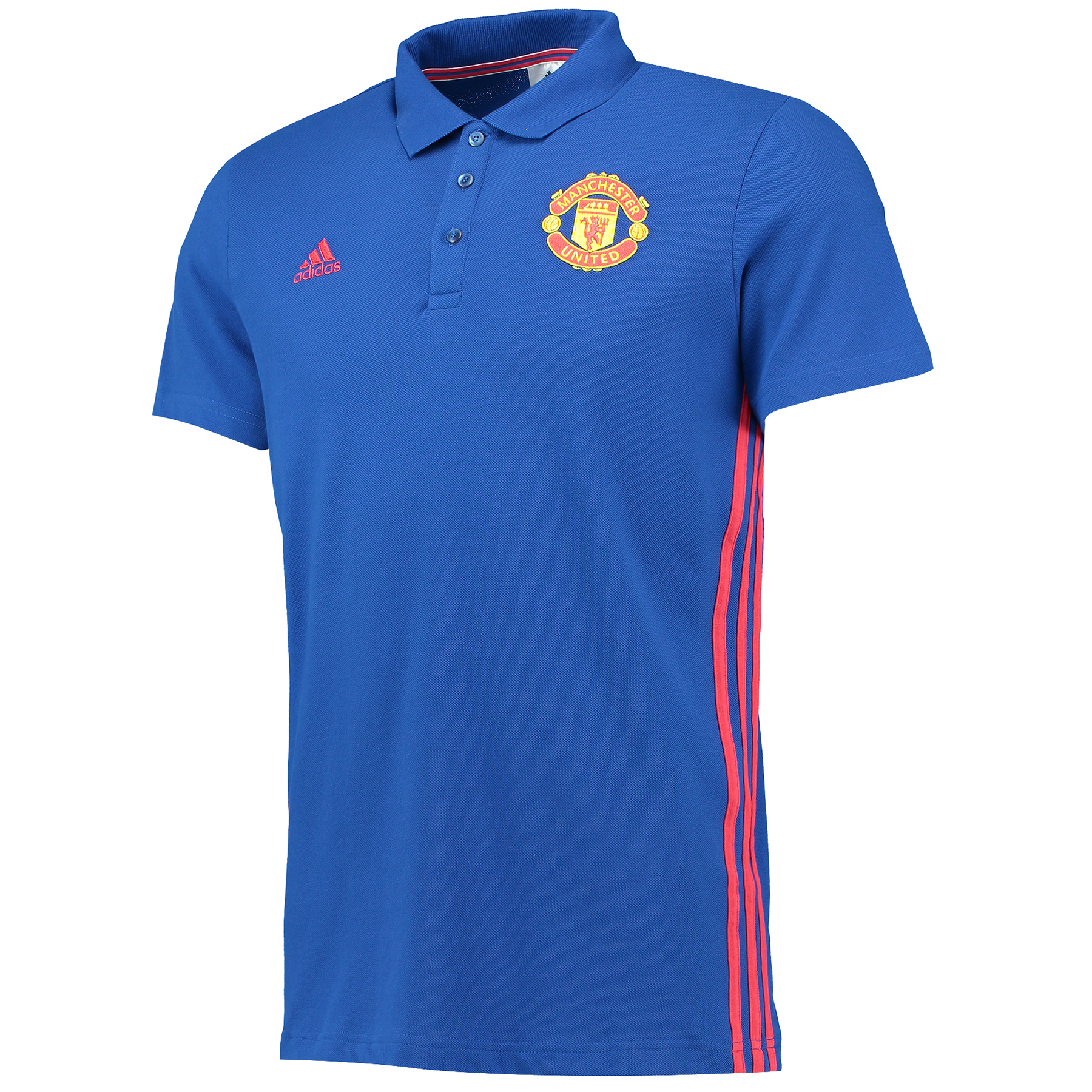 Manchester United Core Polo - Royal Blue