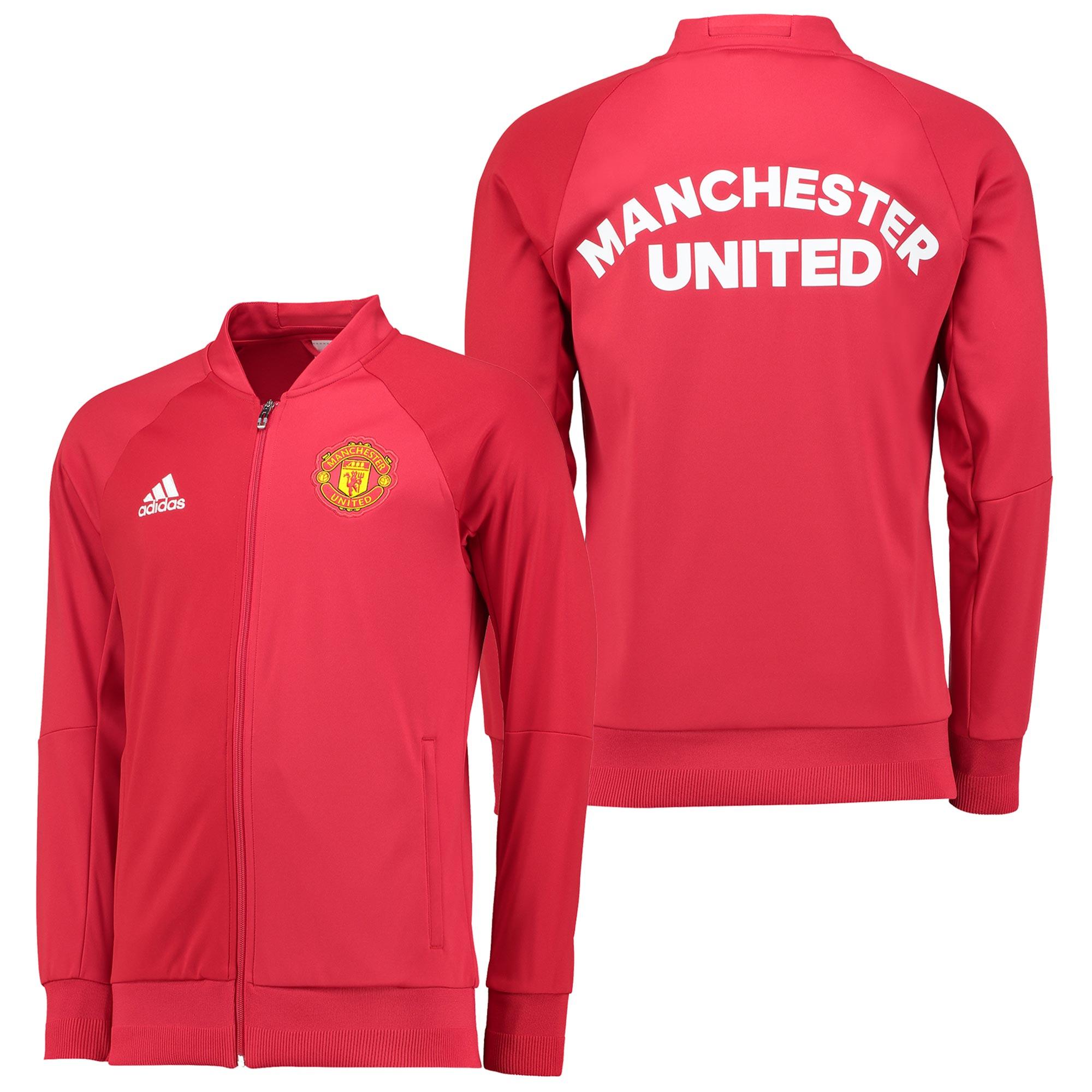 Manchester United Anthem Jacket - Red