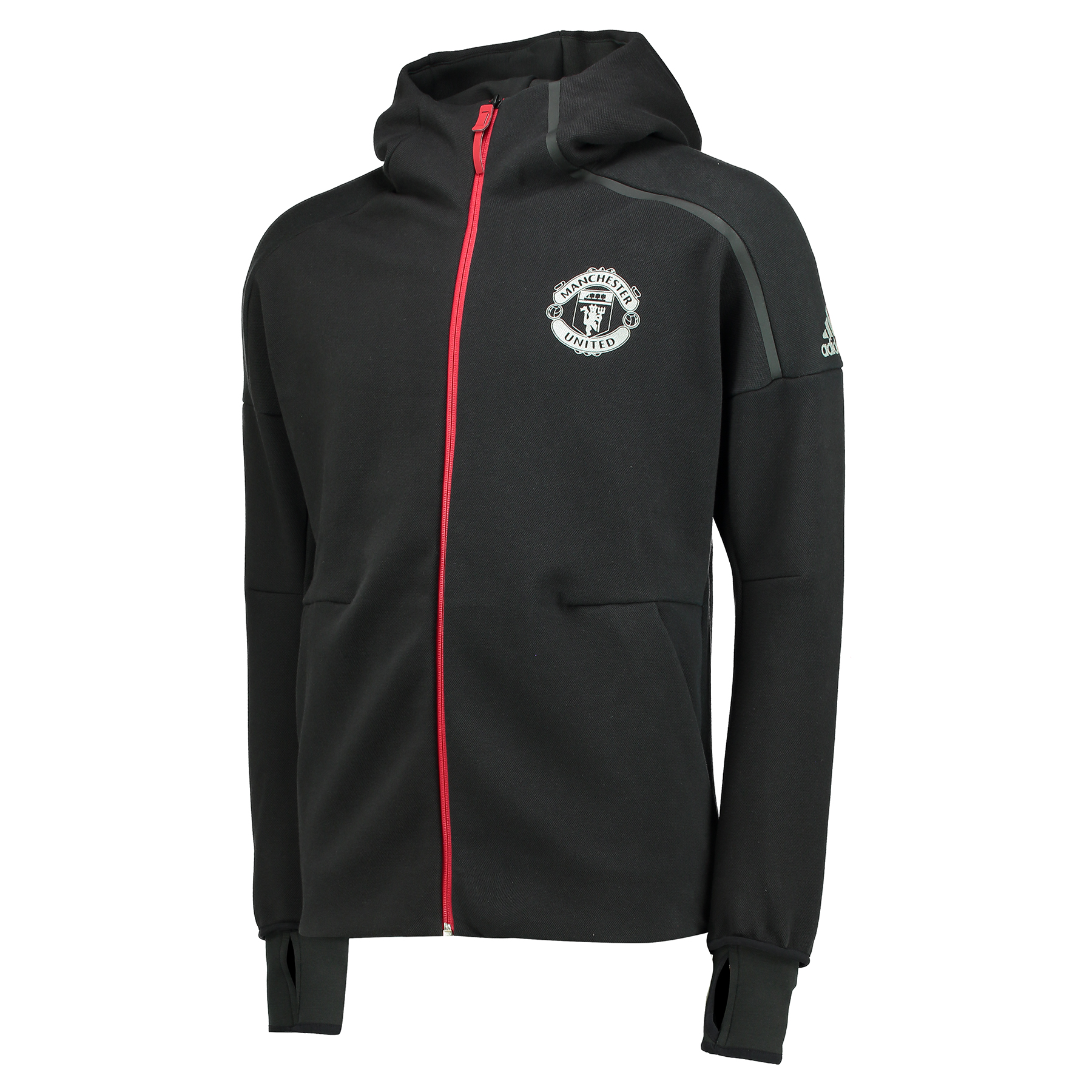 Manchester United ZNE Anthem Jacket - Black