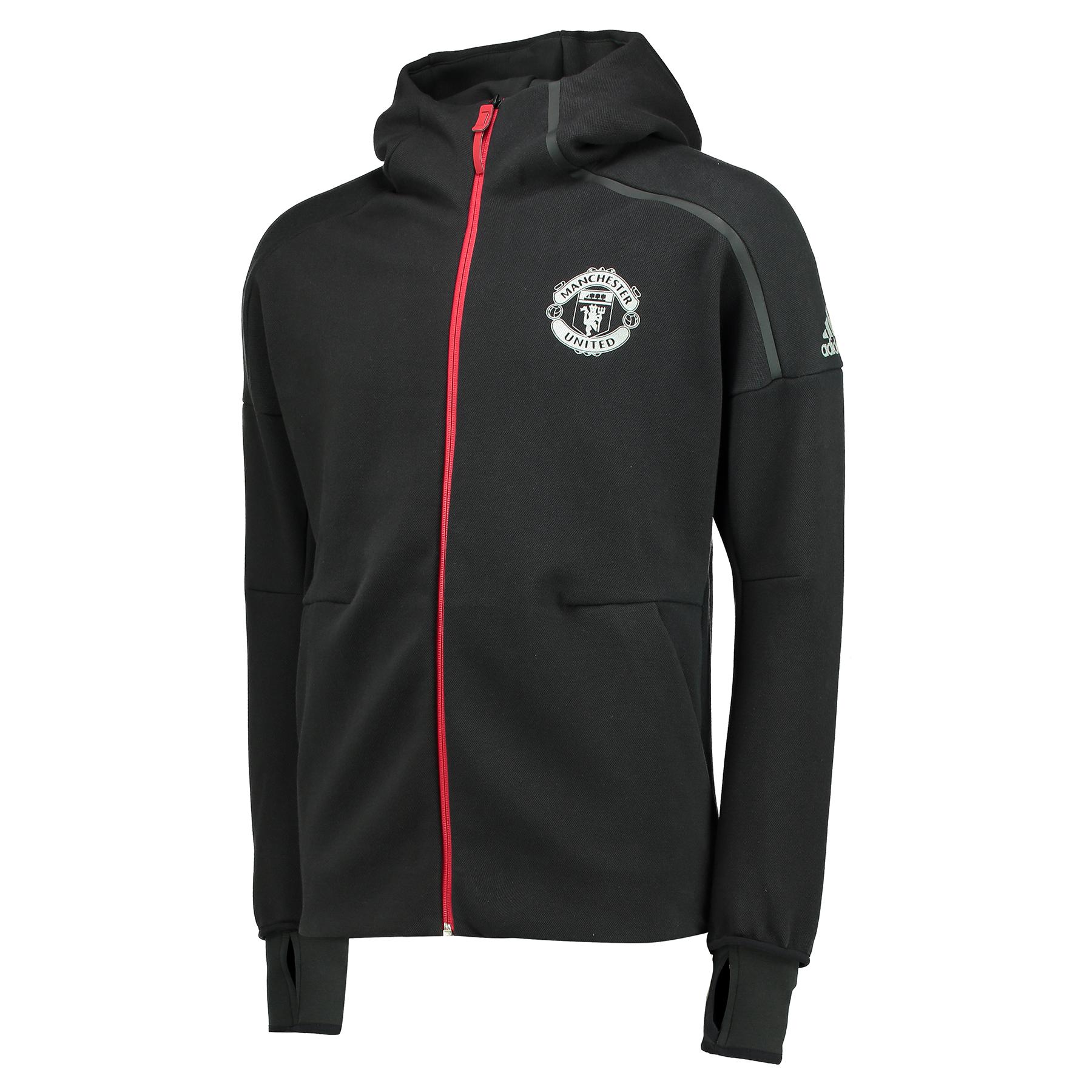 Manchester United ZNE Anthem Jacket - Black