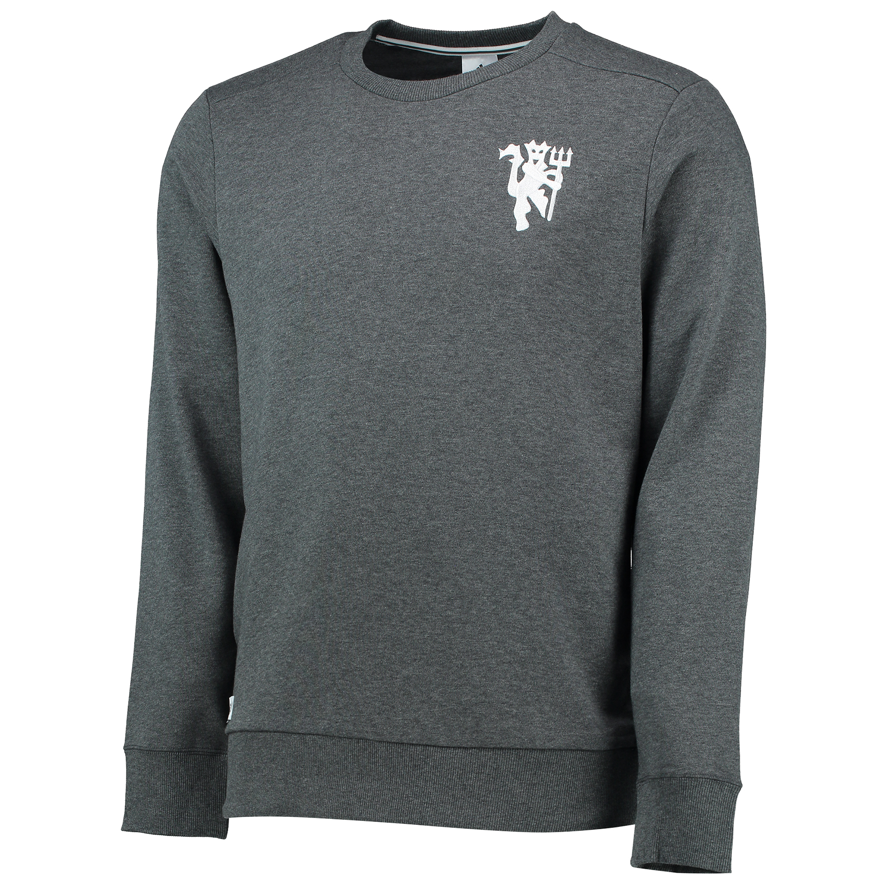 Manchester United Core Crew Sweatshirt - Dark Grey