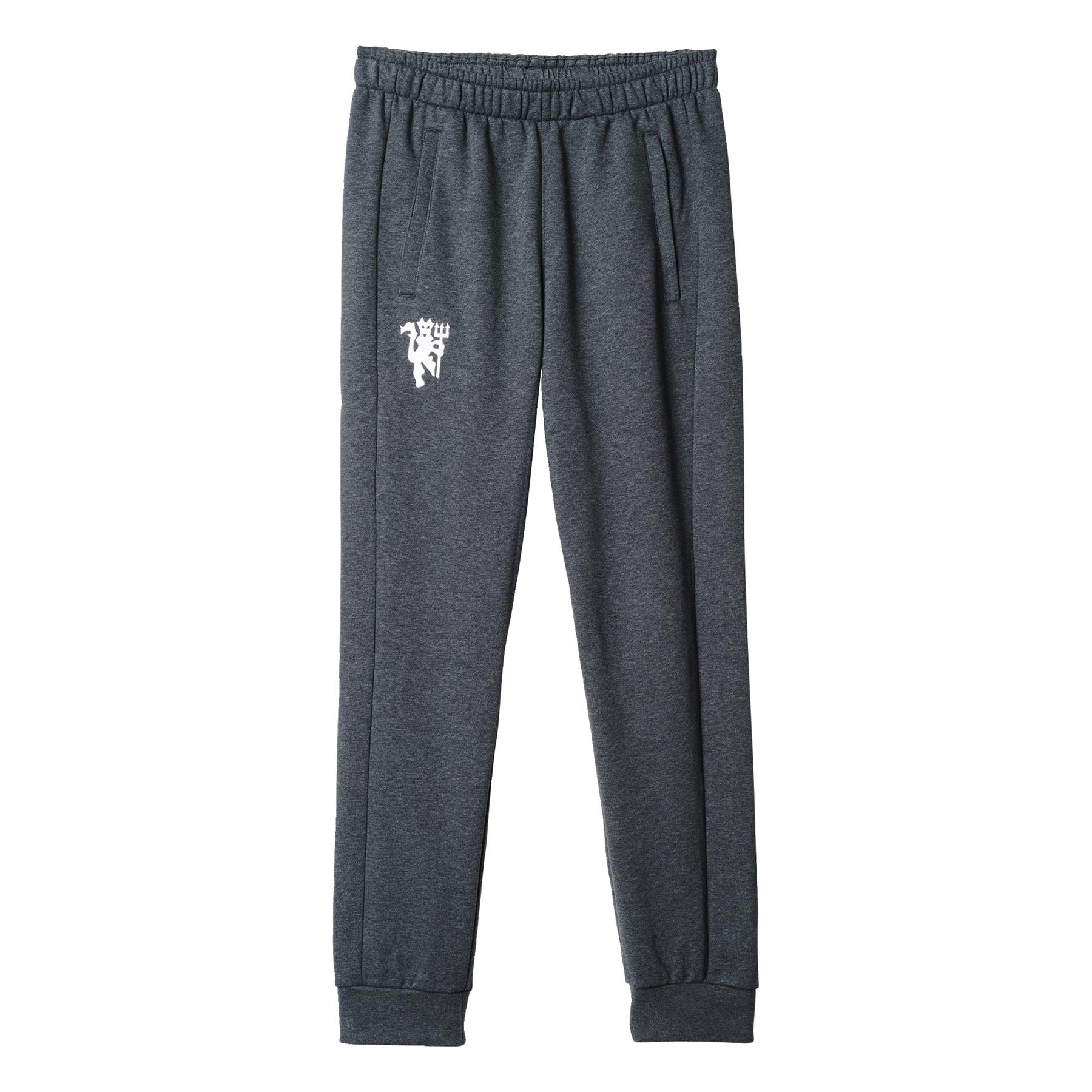 Manchester United Core Sweat Pants - Dark Grey