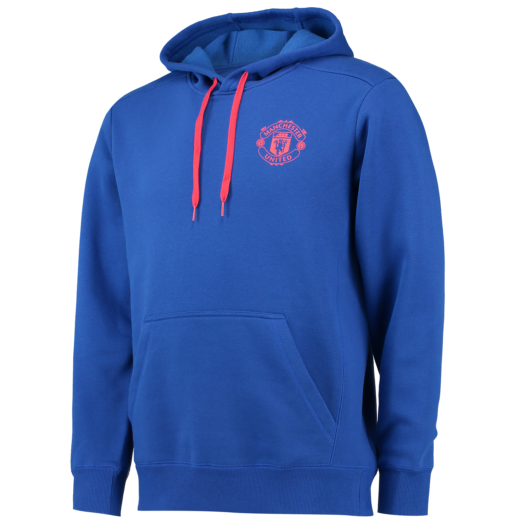 Manchester United Core Hoody - Royal Blue