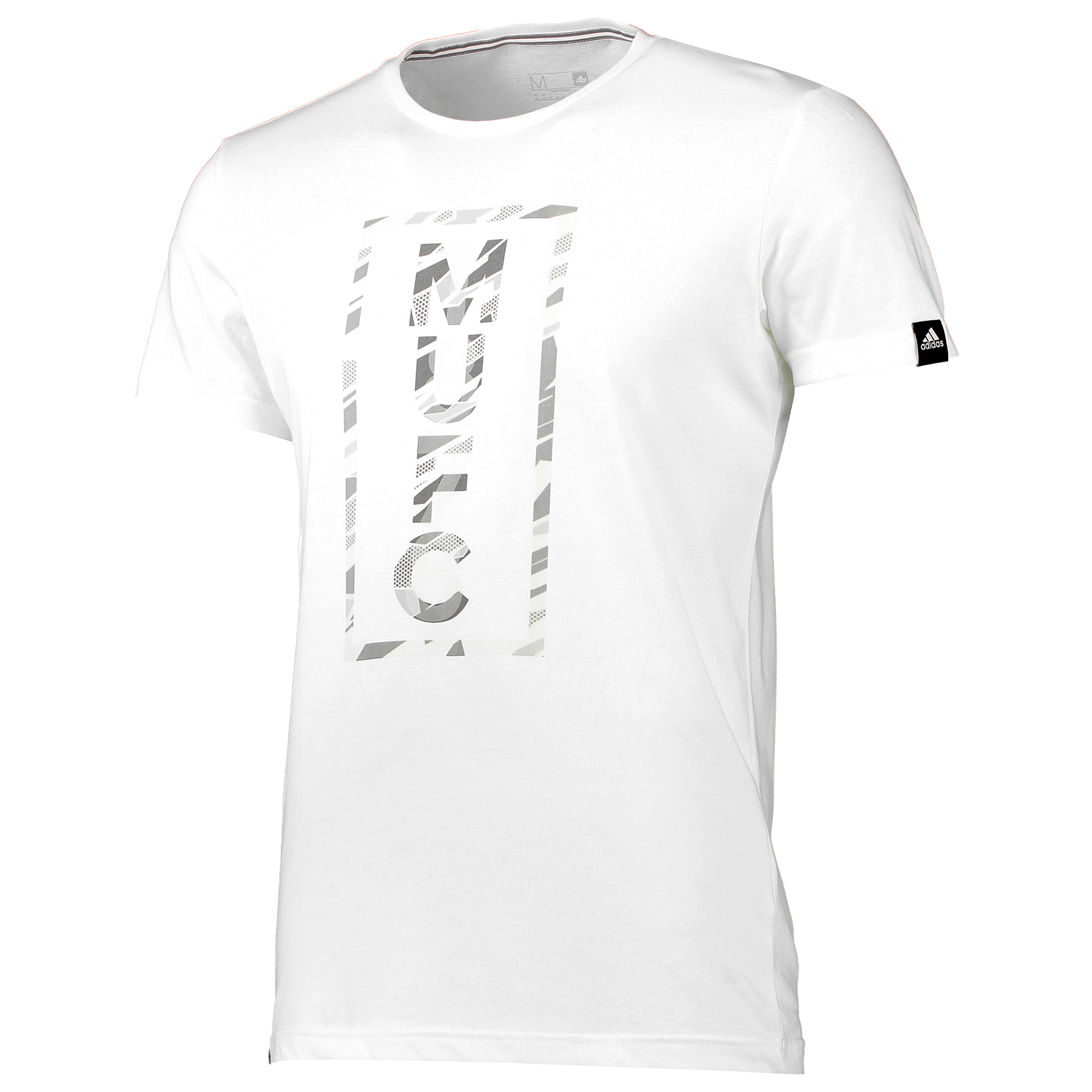 Manchester United Graphic T-Shirt - White
