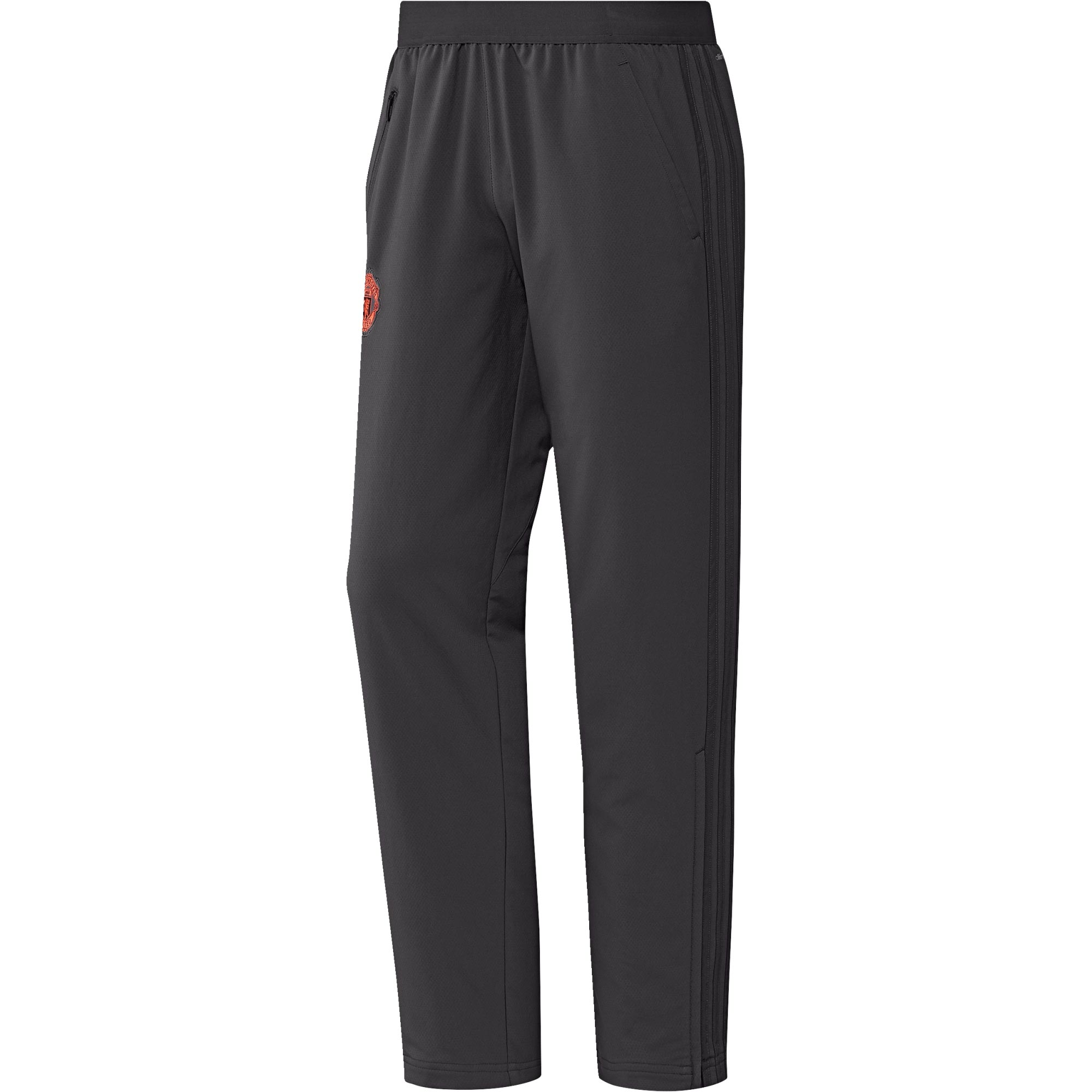 Manchester United Cup Training Presentation Pants - Black - Kids