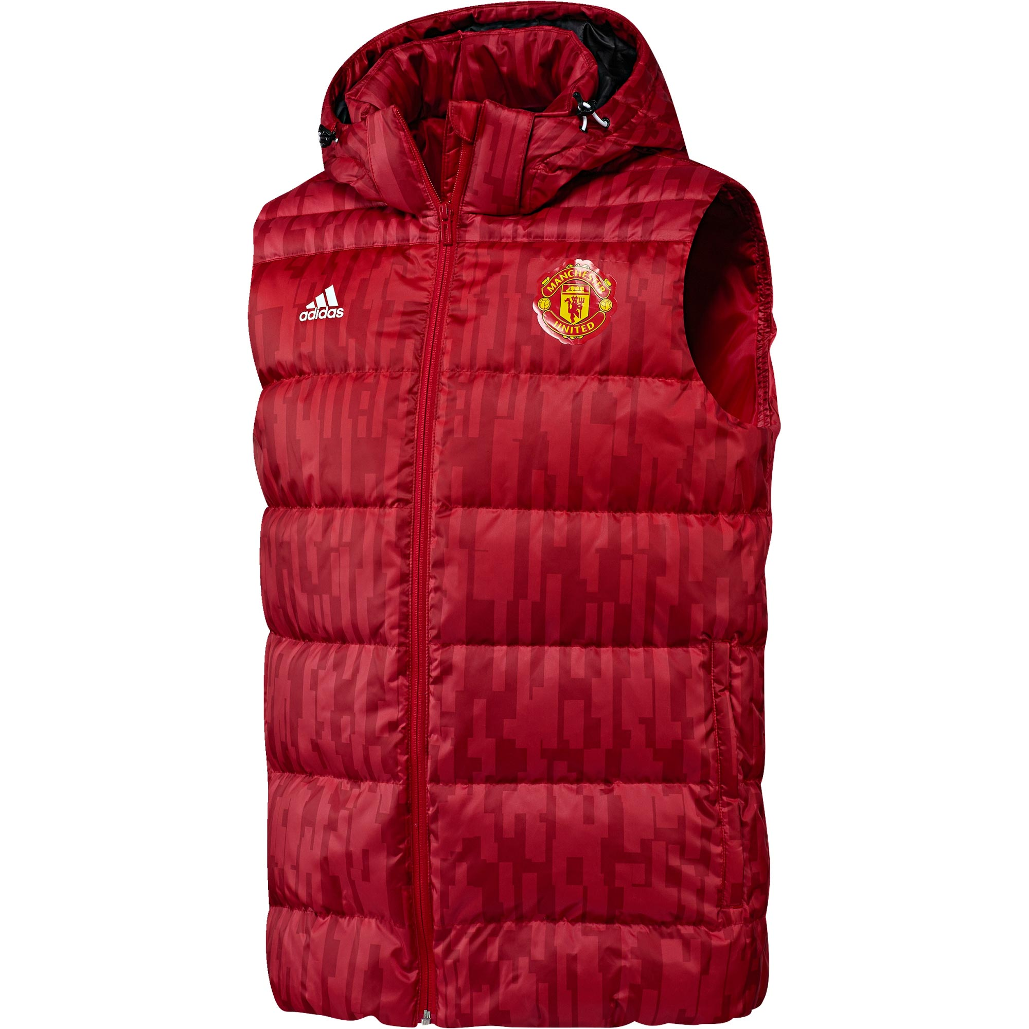 Manchester United Down Vest - Red