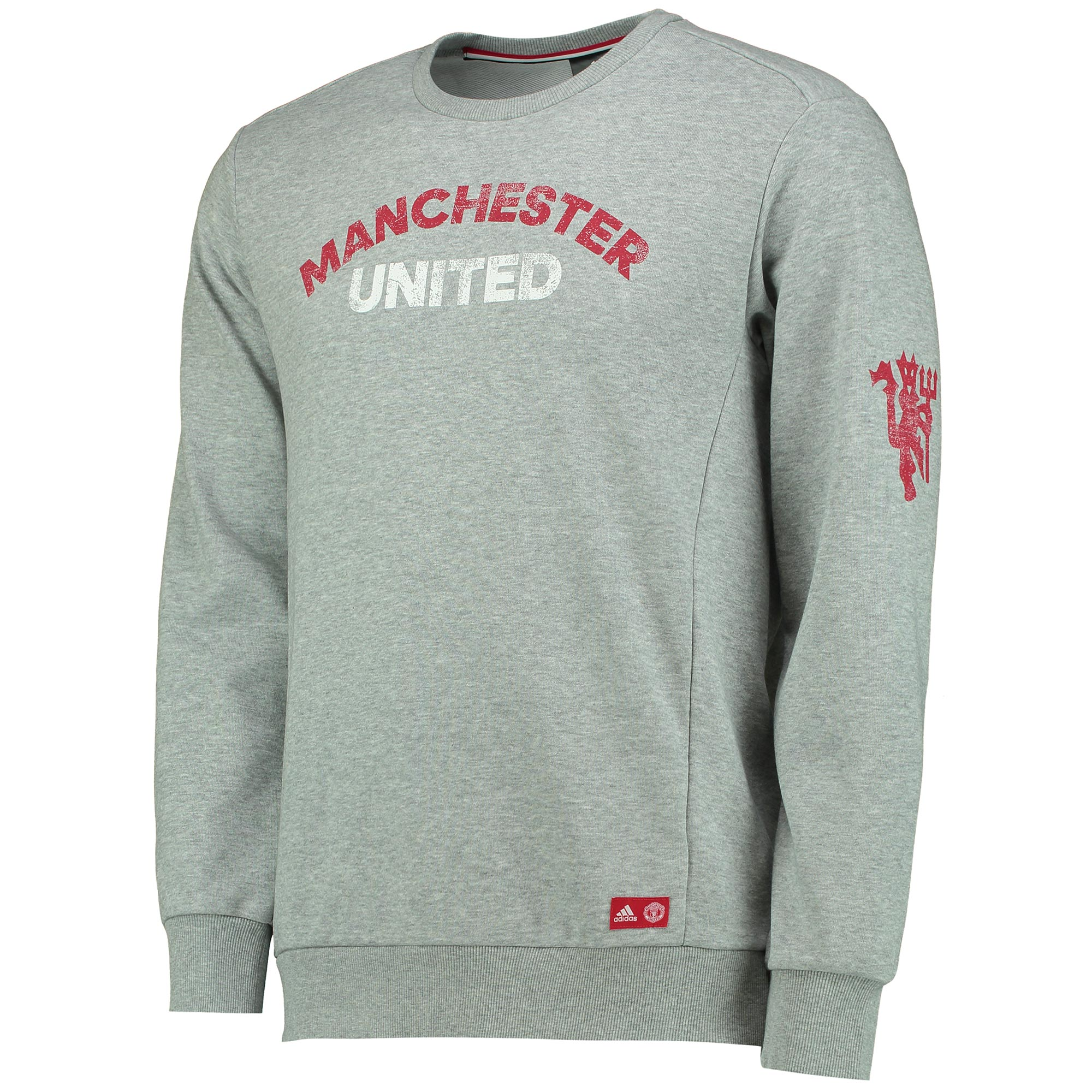 Manchester United Graphic Sweatshirt - Grey