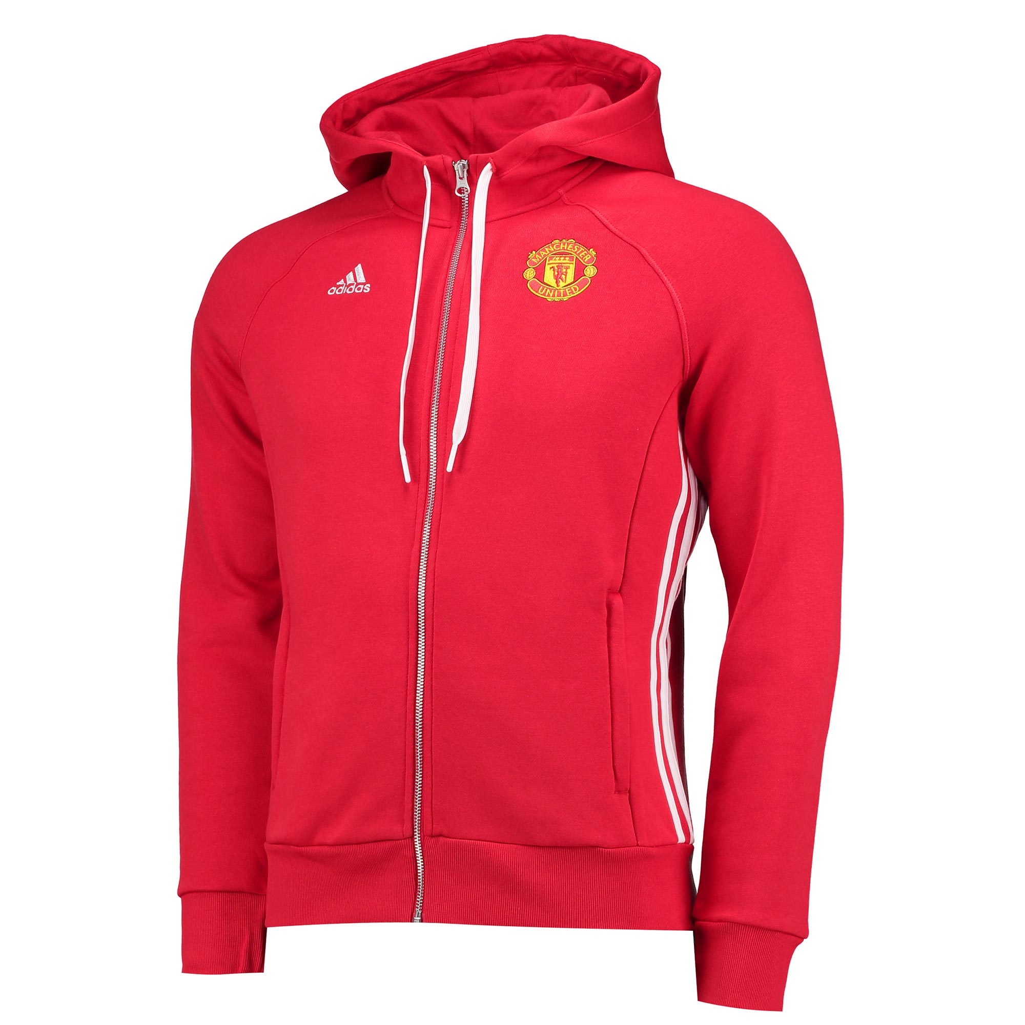Manchester United Core Hoody - Red - Womens