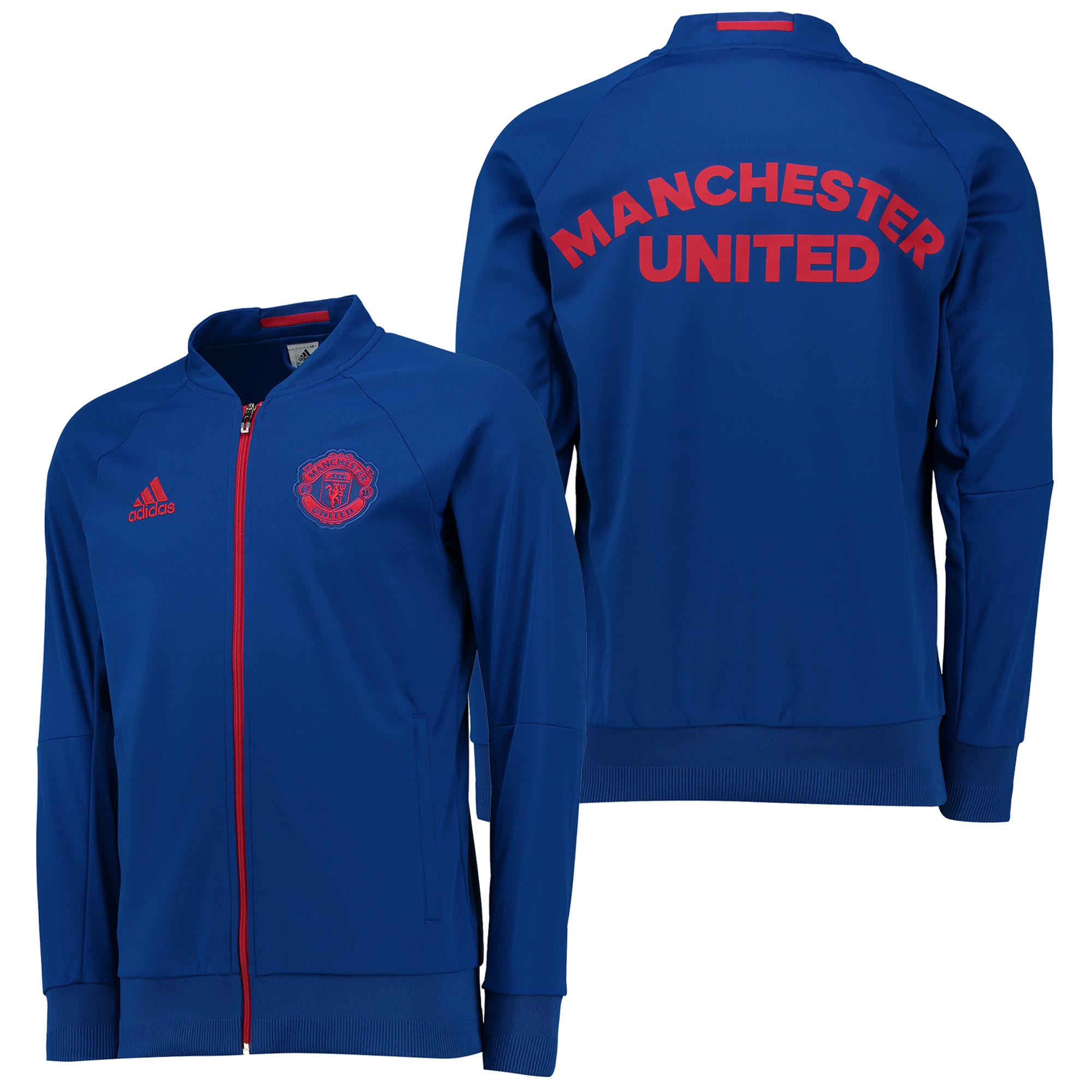 Manchester United Anthem Jacket - Royal Blue
