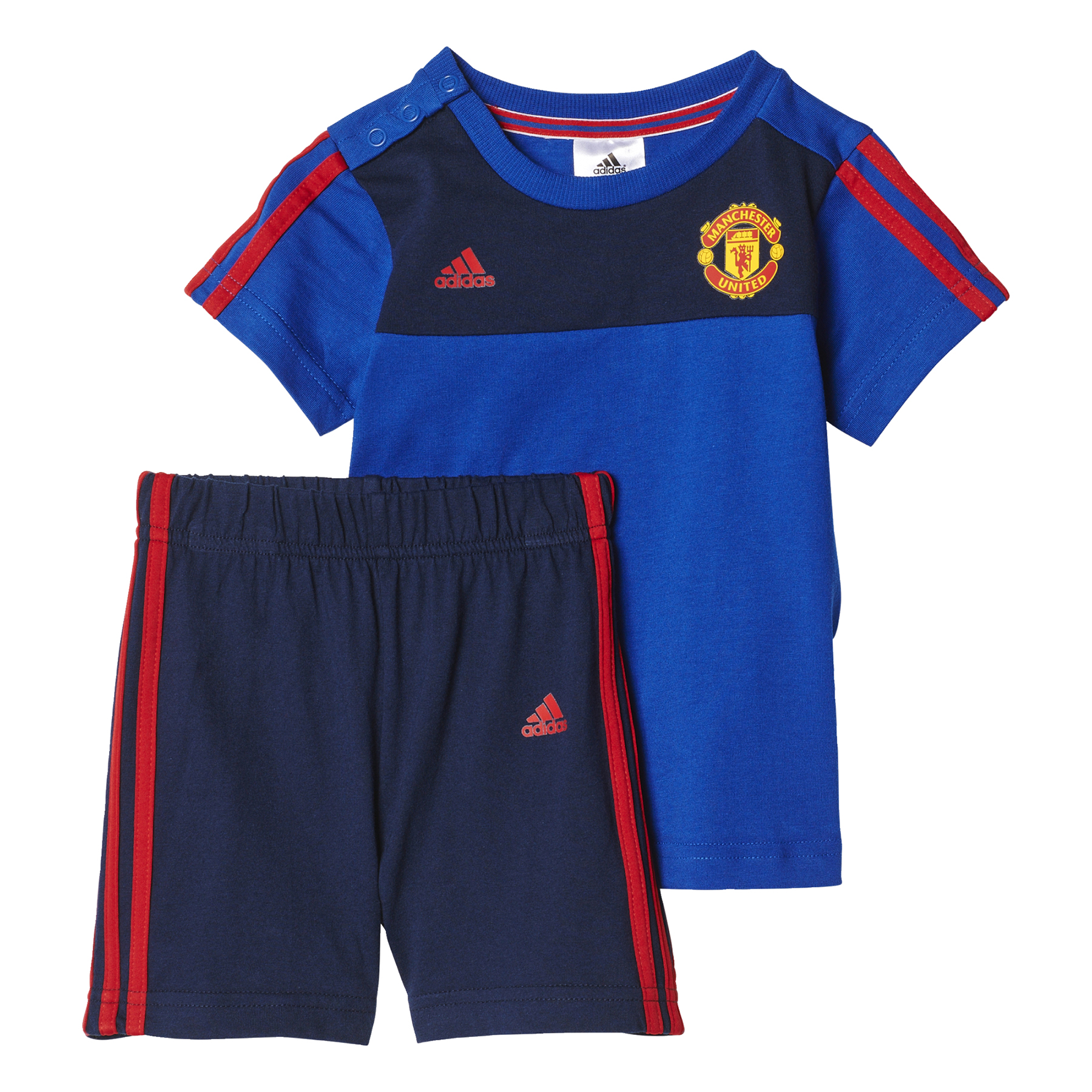 Manchester United Core Baby Set - Royal Blue