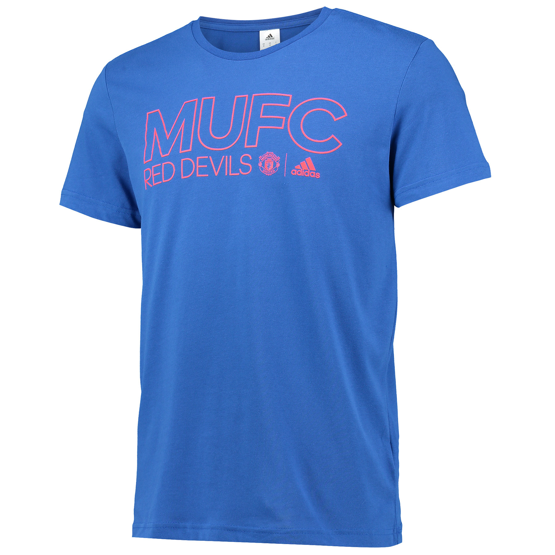 Manchester United Core T-Shirt - Royal Blue