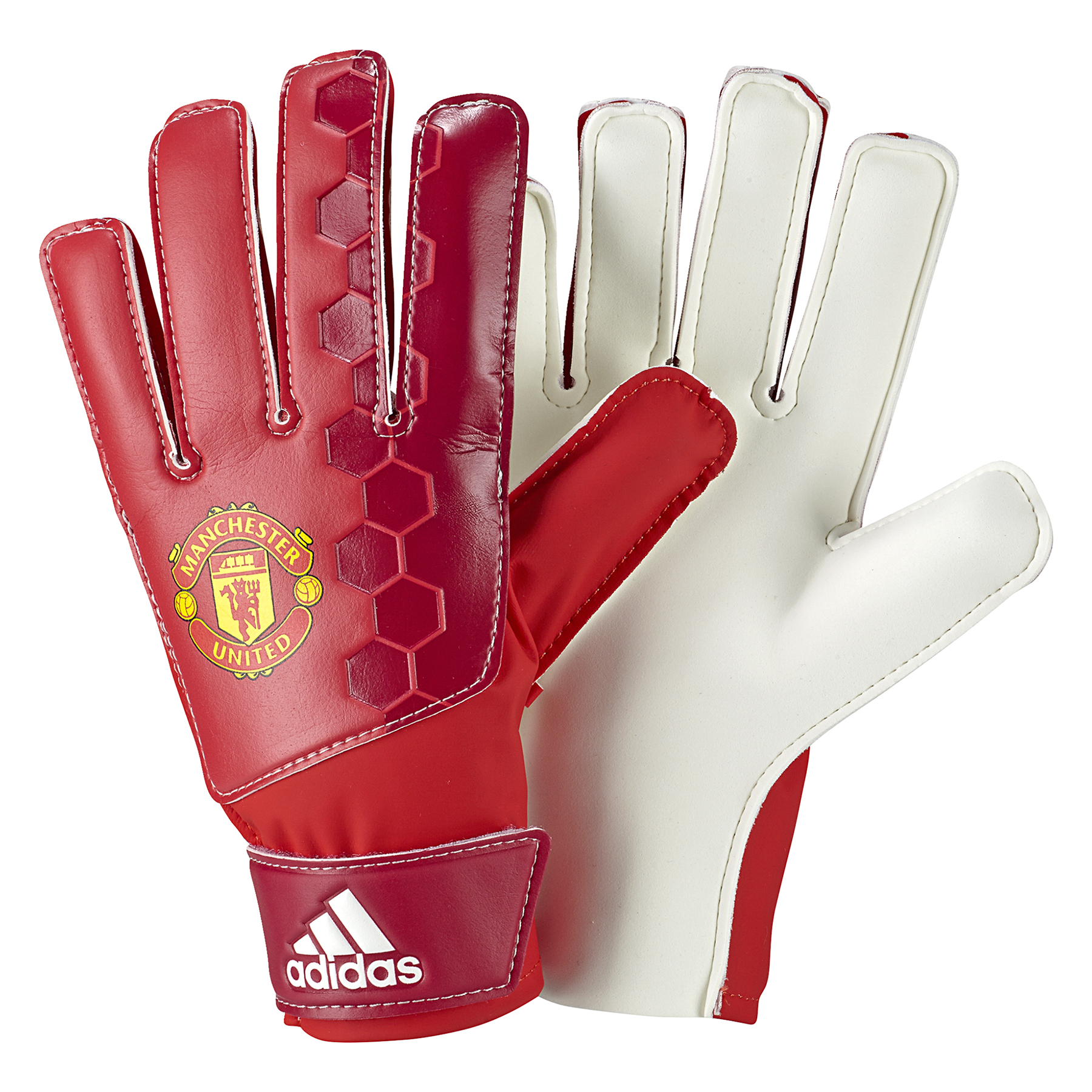 Manchester United Lite Goalkeeper Gloves - Red