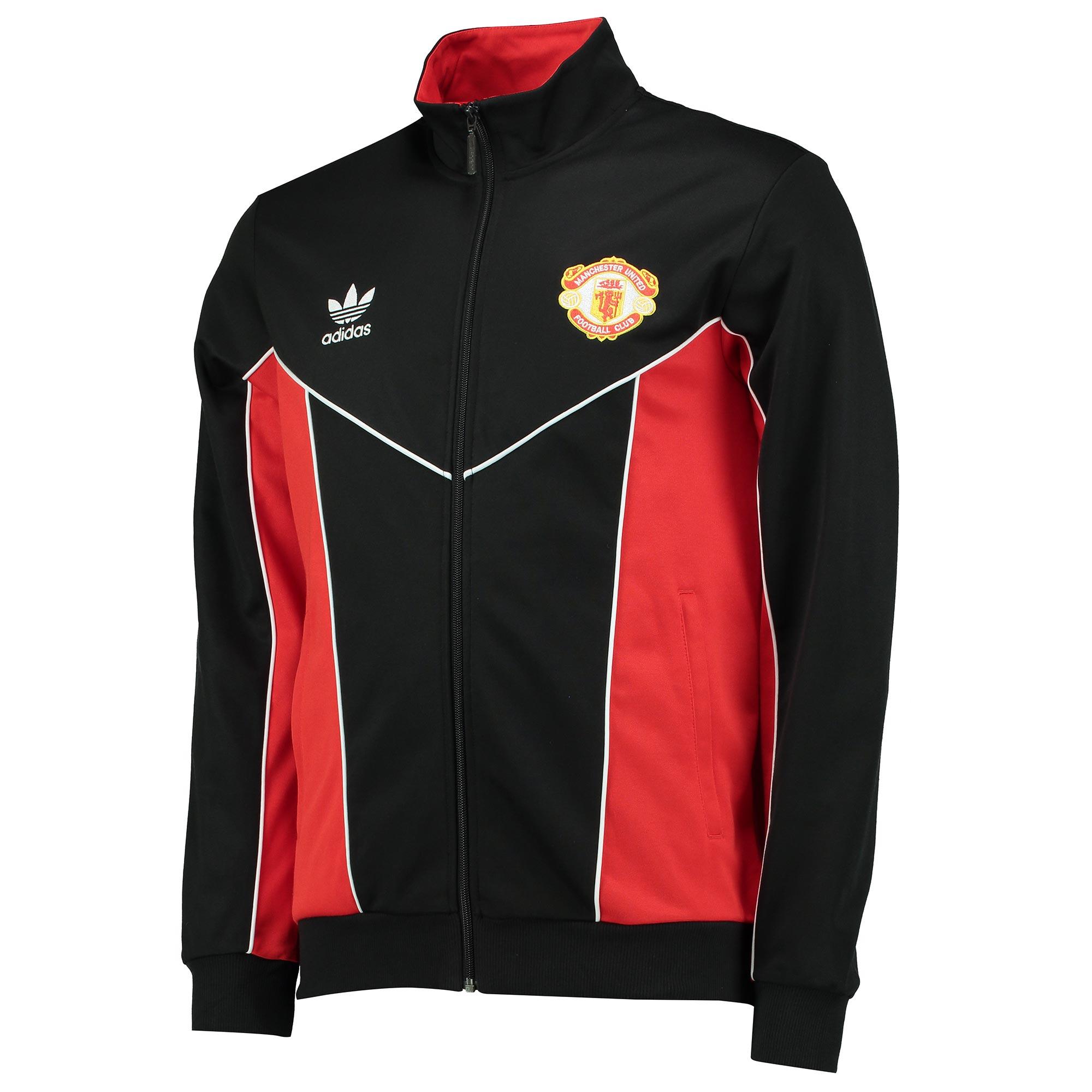 Manchester United Originals 1984 Track Top - Black-Red