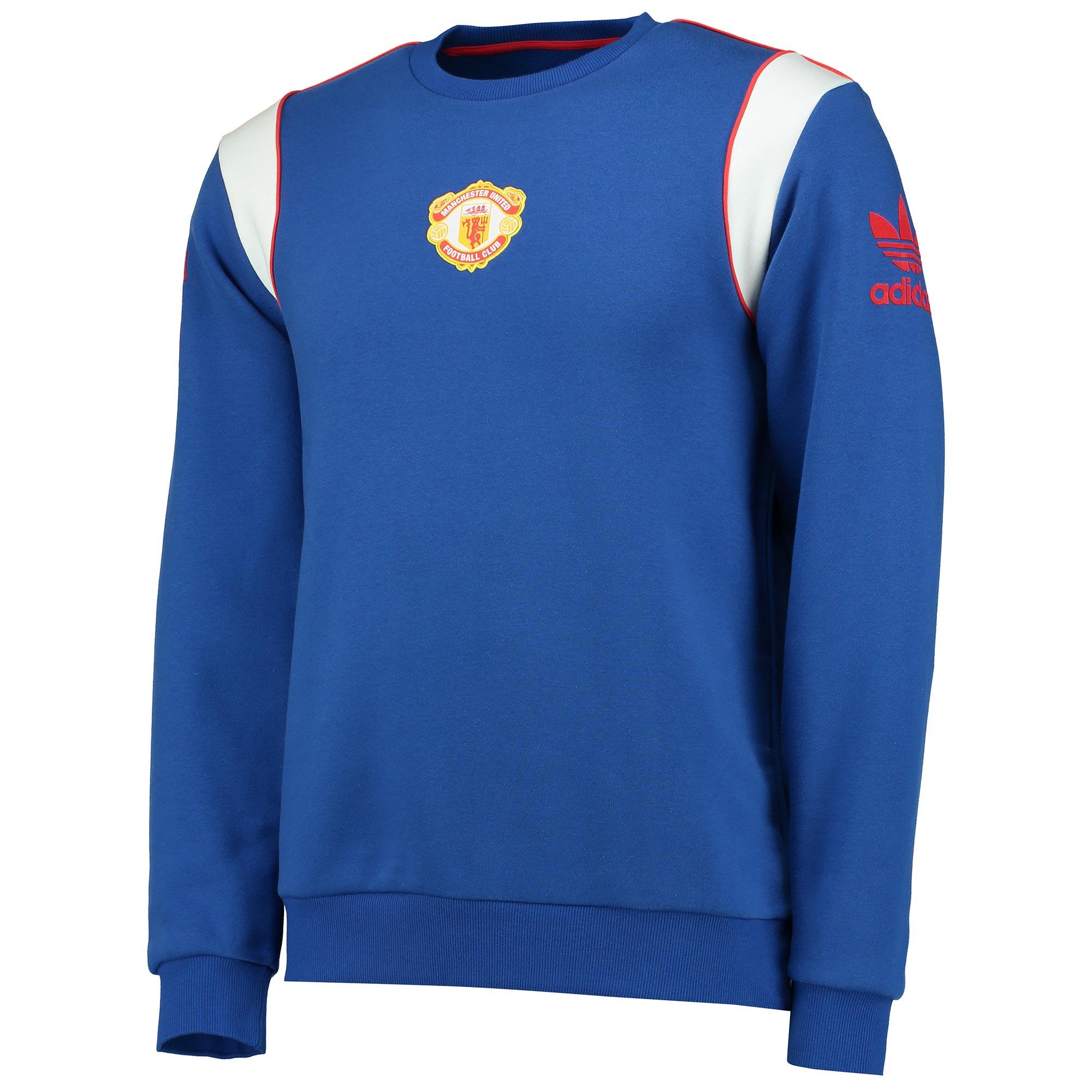 Manchester United Originals 1985 Crew Neck Sweatshirt - Royal