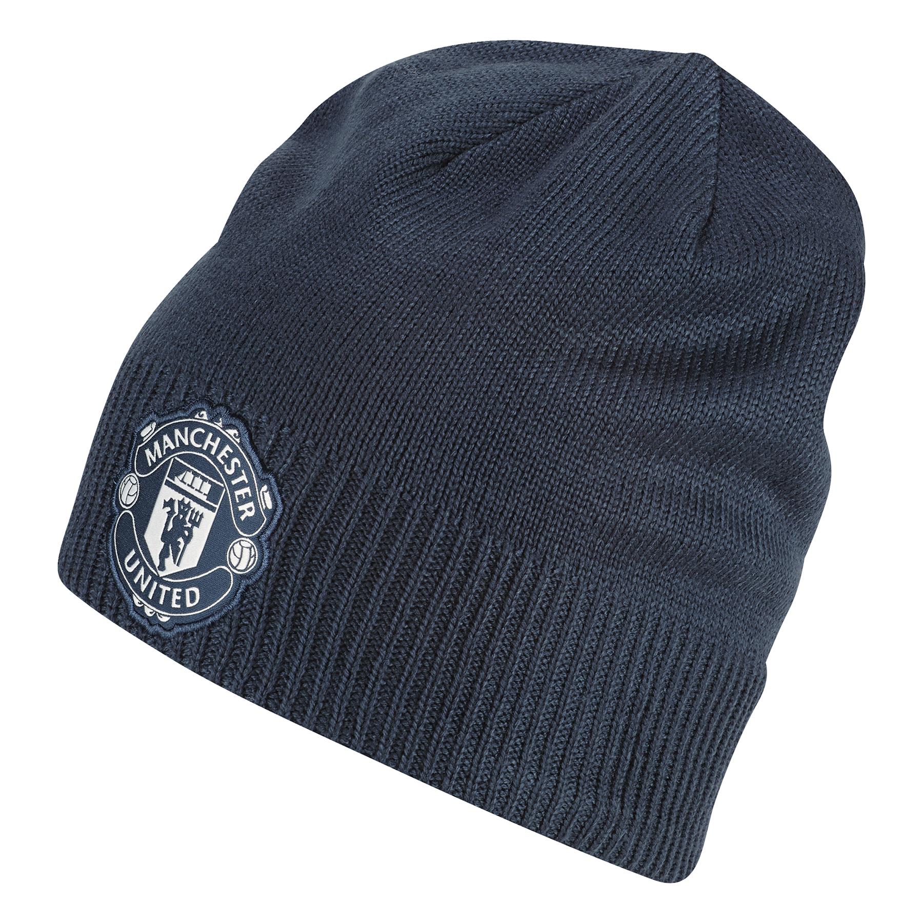 Manchester United Beanie - Blue