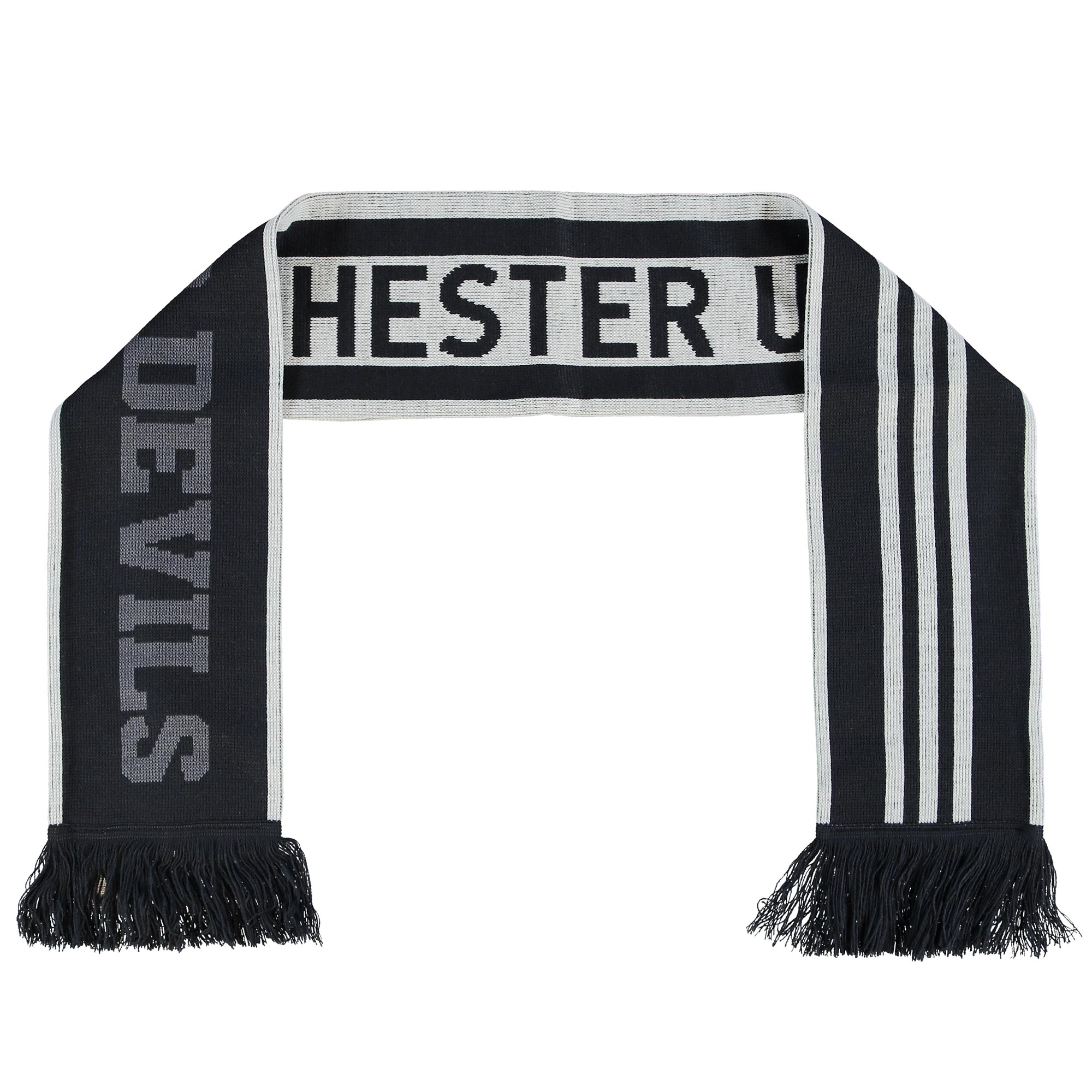 Manchester United Third Scarf - Grey