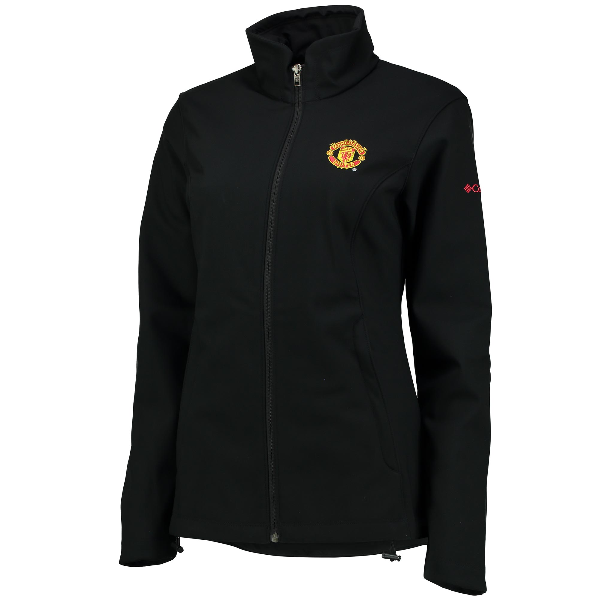 Manchester United Columbia Kruser Ridge Softshell Jacket - Black - Wom
