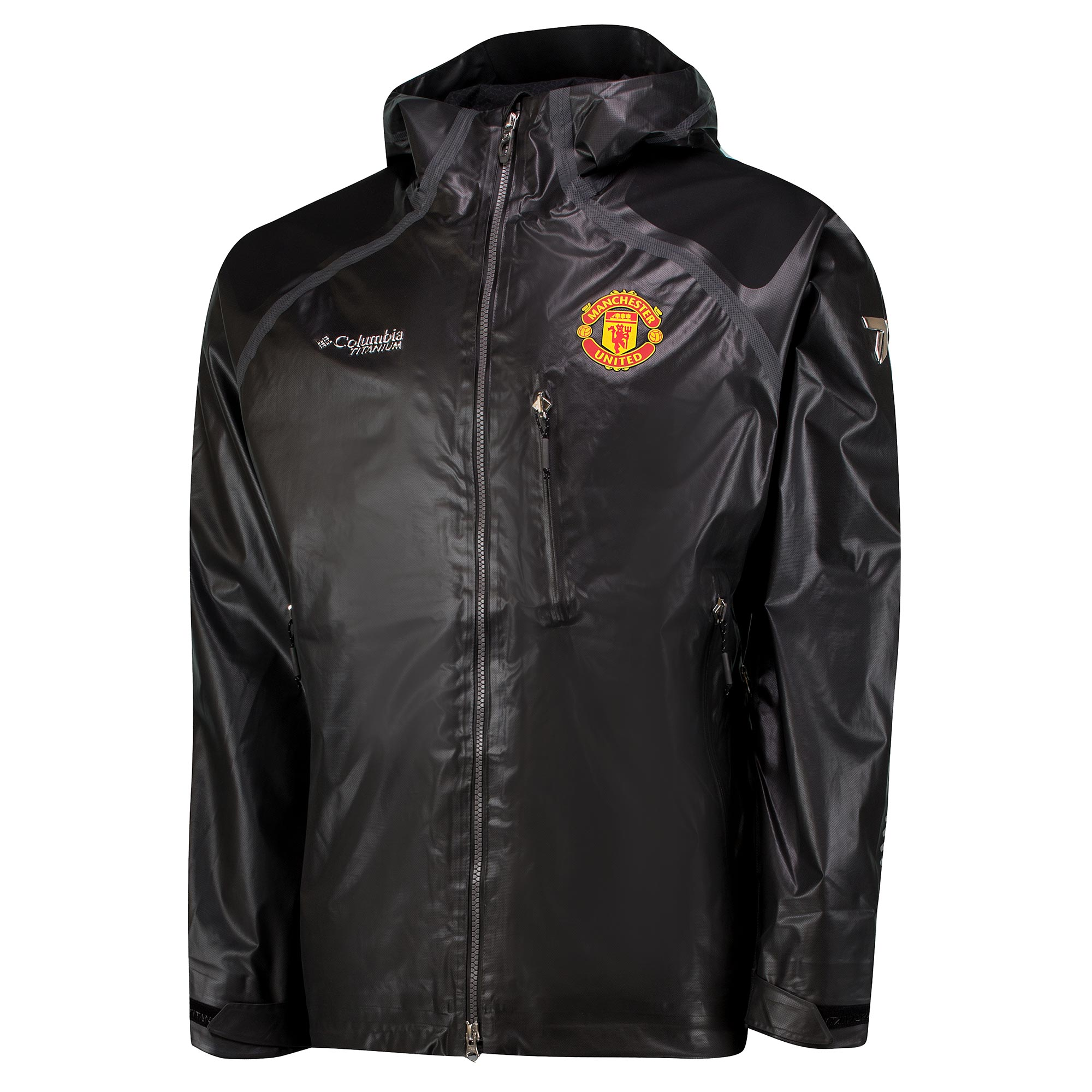 Manchester United Columbia Outdry Ex Diamond Shell Jacket - Grey - Men
