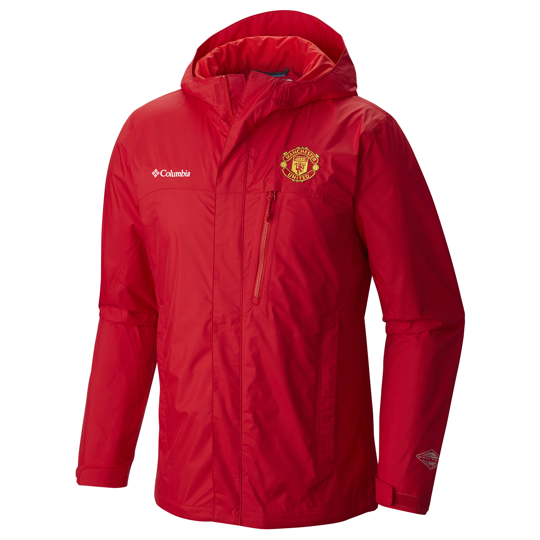 Manchester United Columbia Pouring Adventure Jacket - Red - Mens