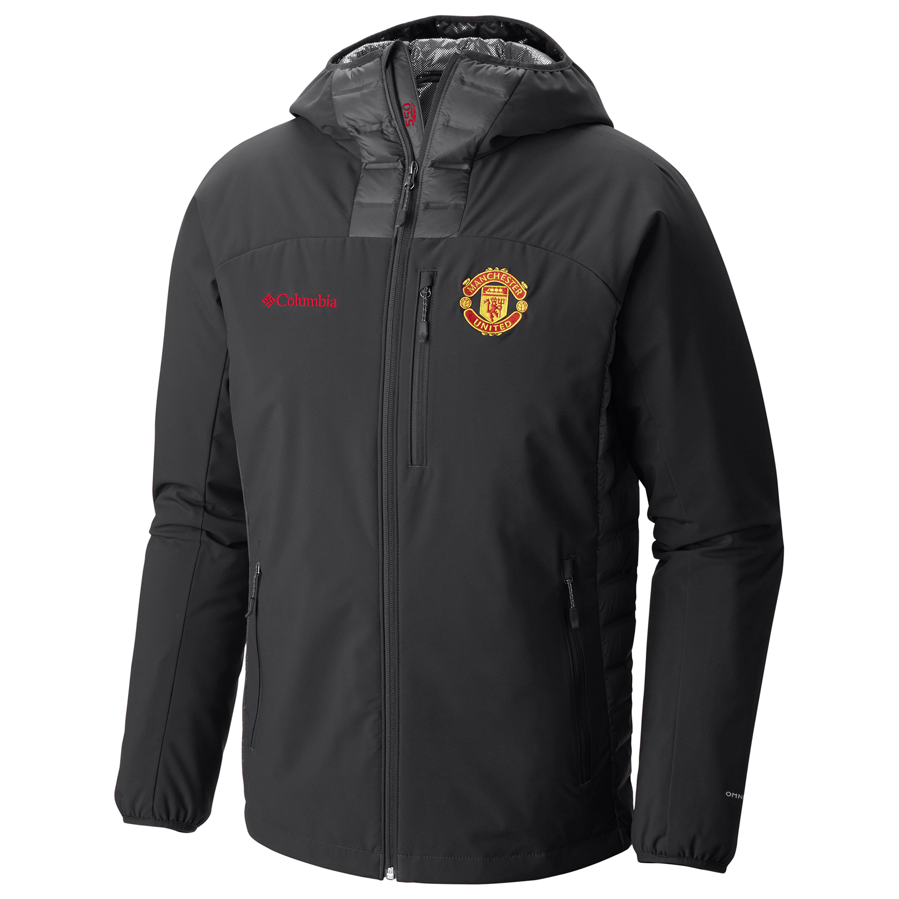 Manchester United Columbia Dutch Hollow Hybrid Jacket - Black - Mens