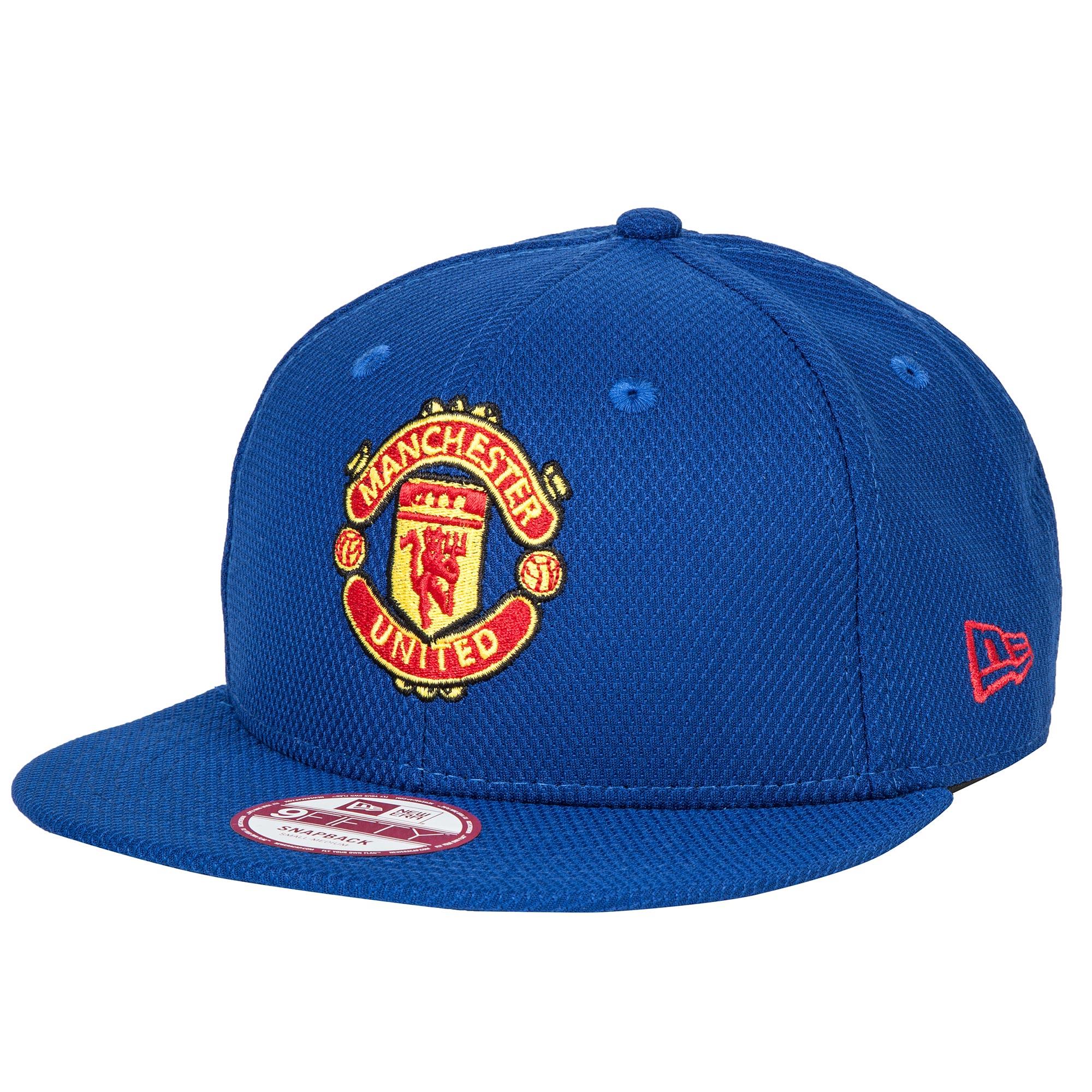 Manchester United New Era 9FIFTY Diamond Era Snapback Cap - Royal - Ad