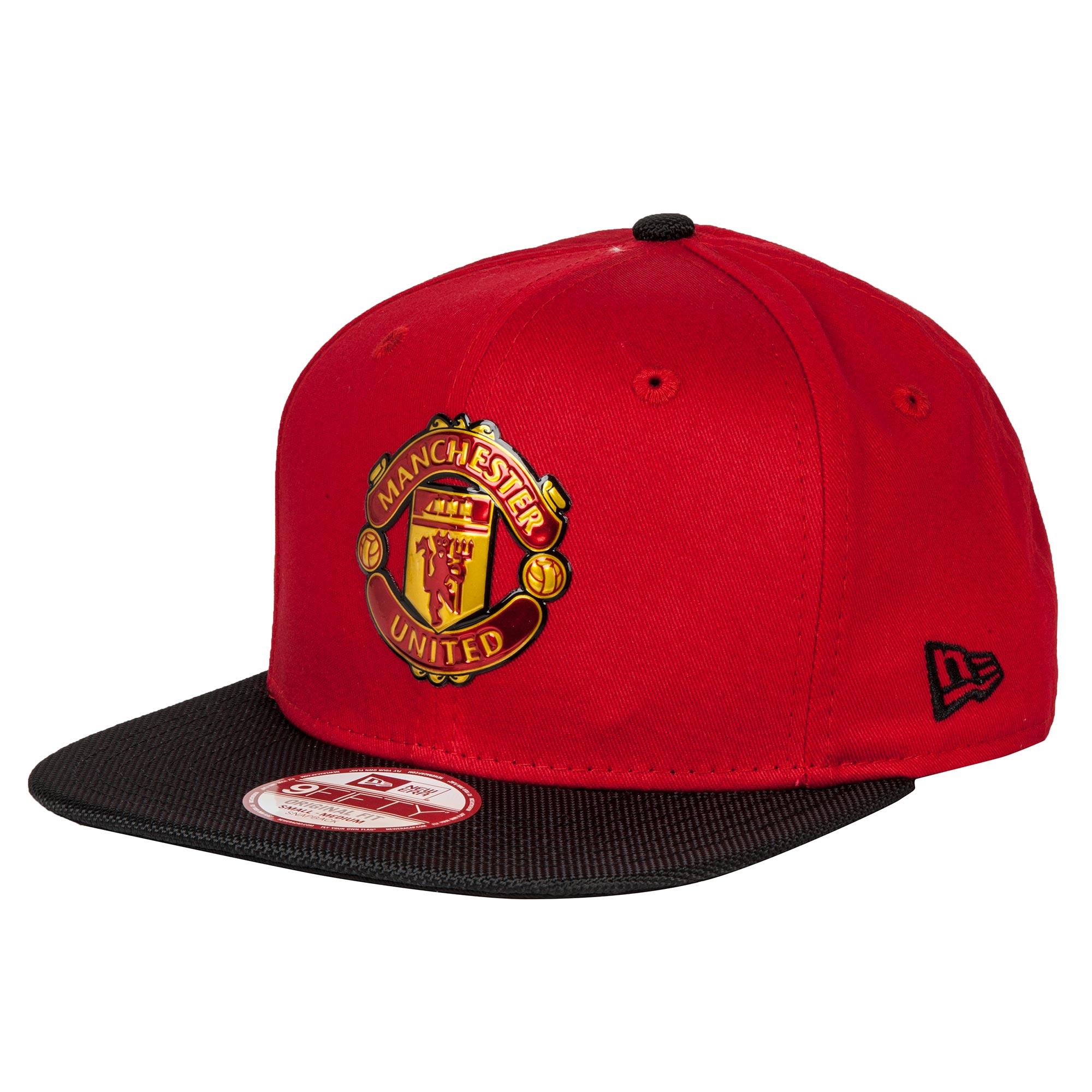 Manchester United New Era 9FIFTY Nylon - Snapback Cap - Red - Adult