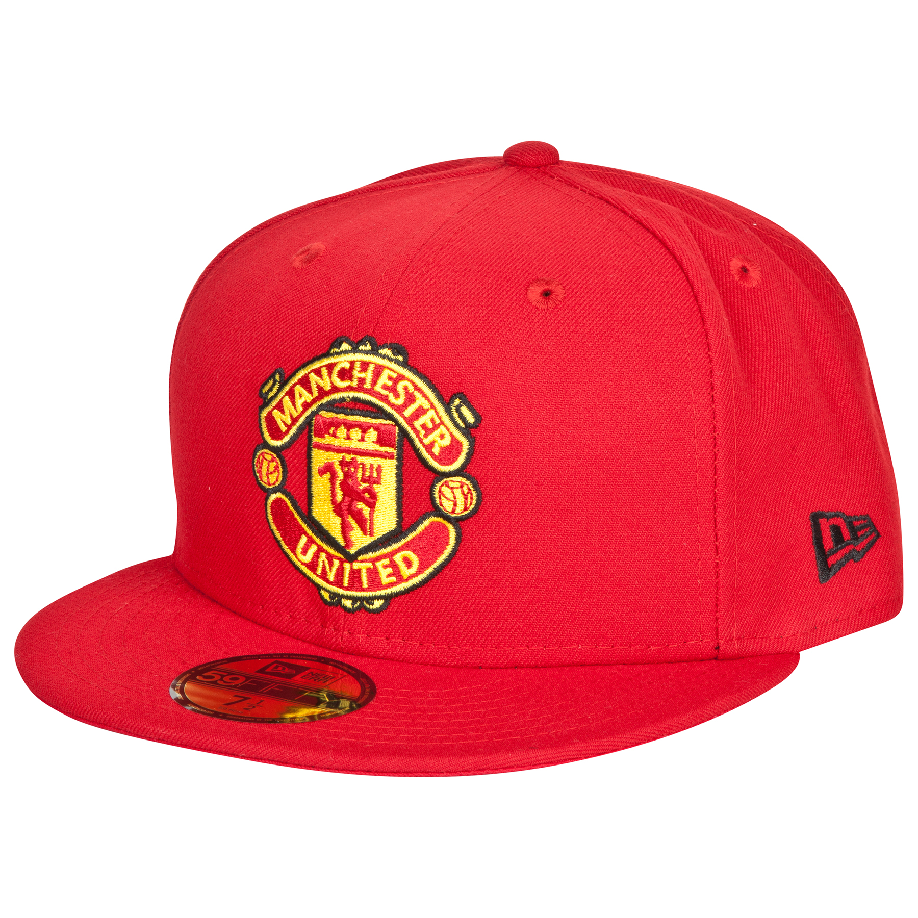 Manchester United New Era 59FIFTY Fitted Cap - Red - Adult