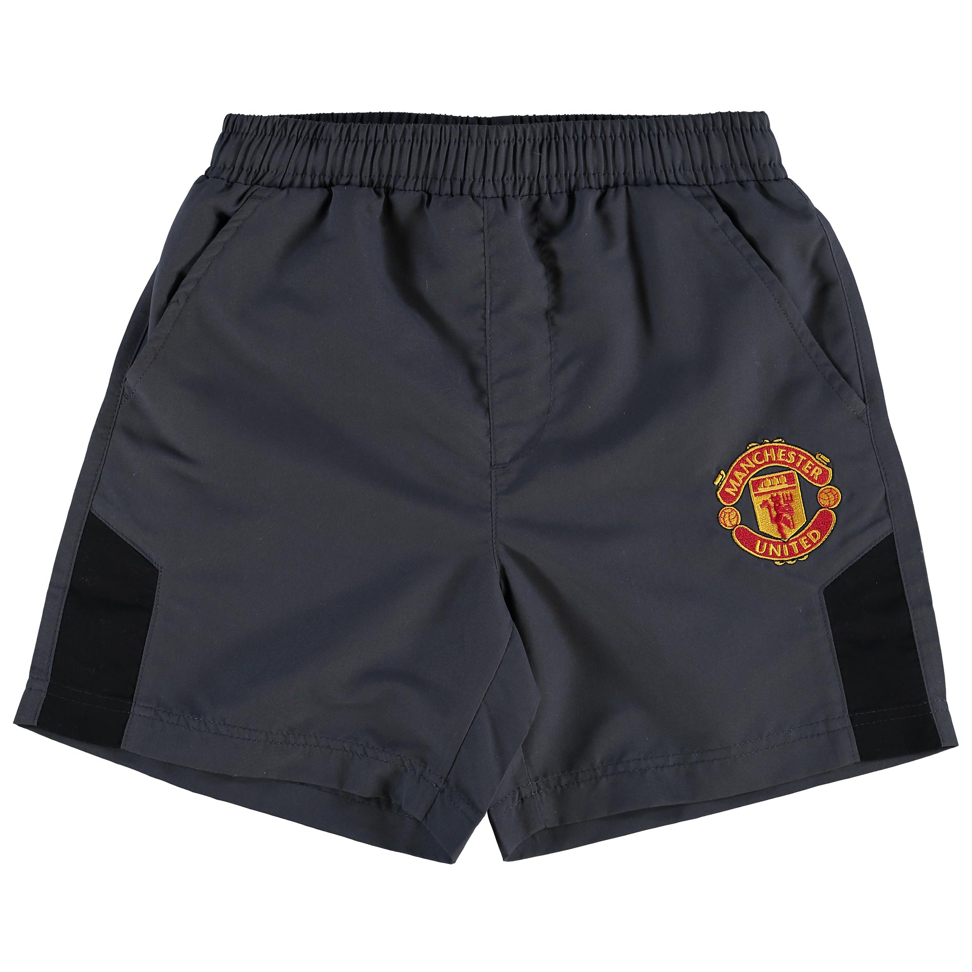 Manchester United Essential Shorts - Charcoal - Kids