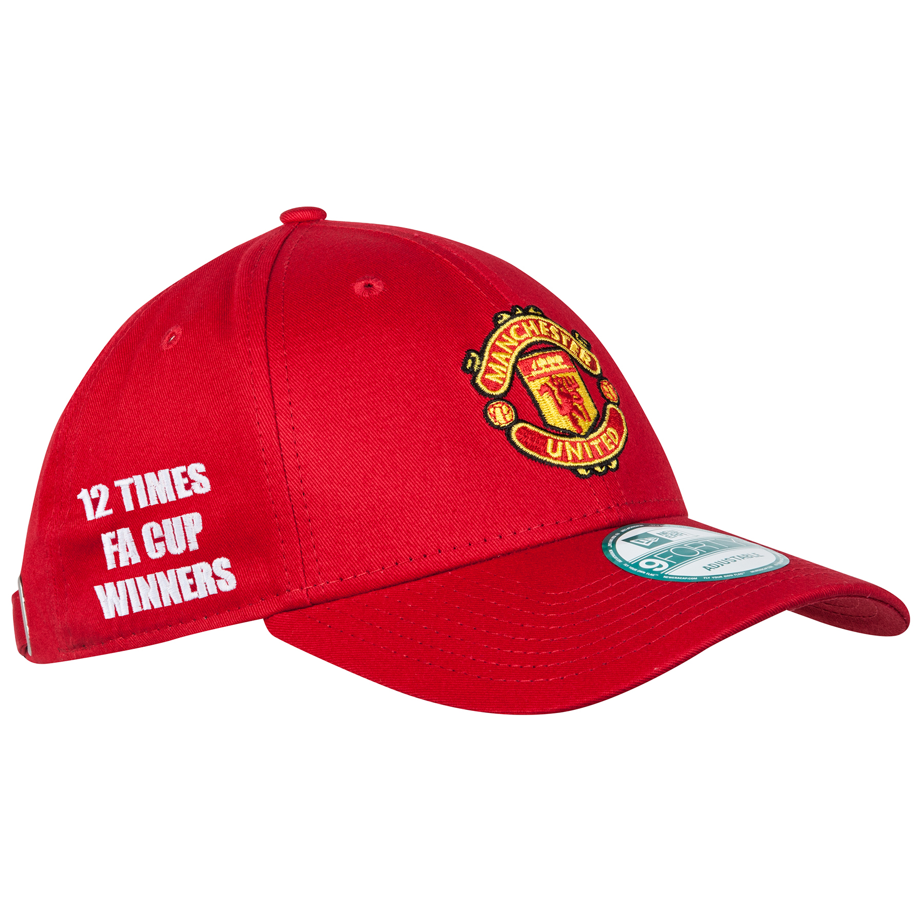 Manchester United New Era FA Cup Winners Basic 9FORTY Adjustable Cap -