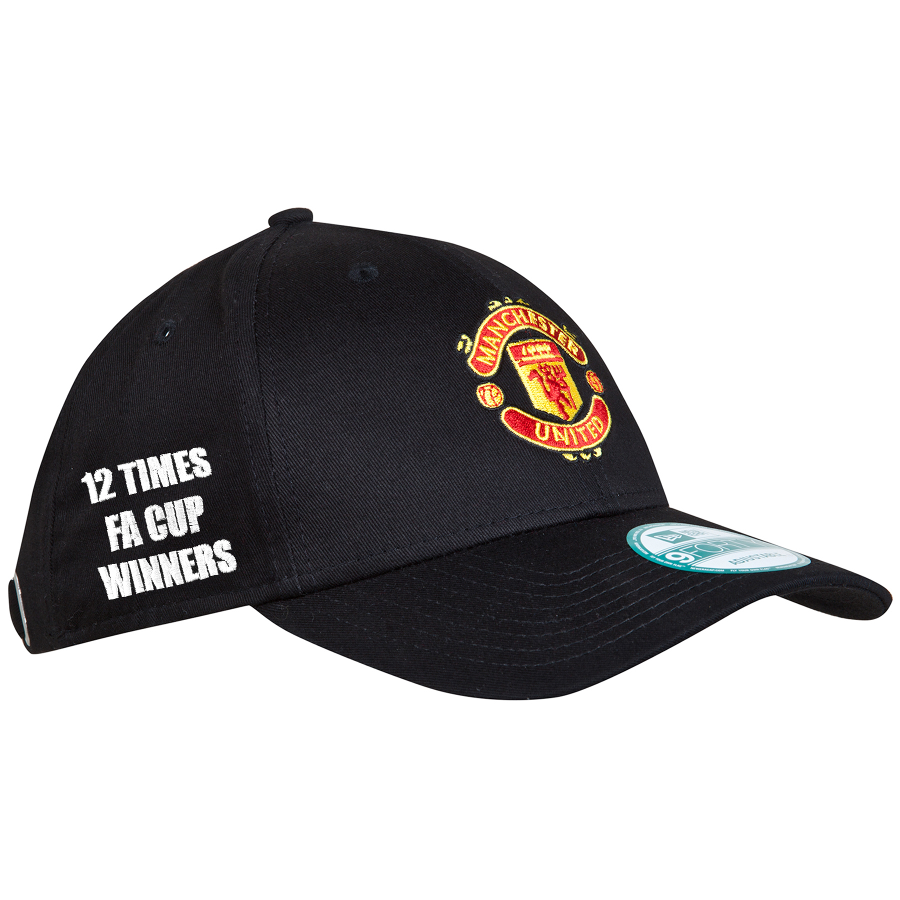 Manchester United New Era Basic FA Cup Winners 9FOURTY Adjustable Cap