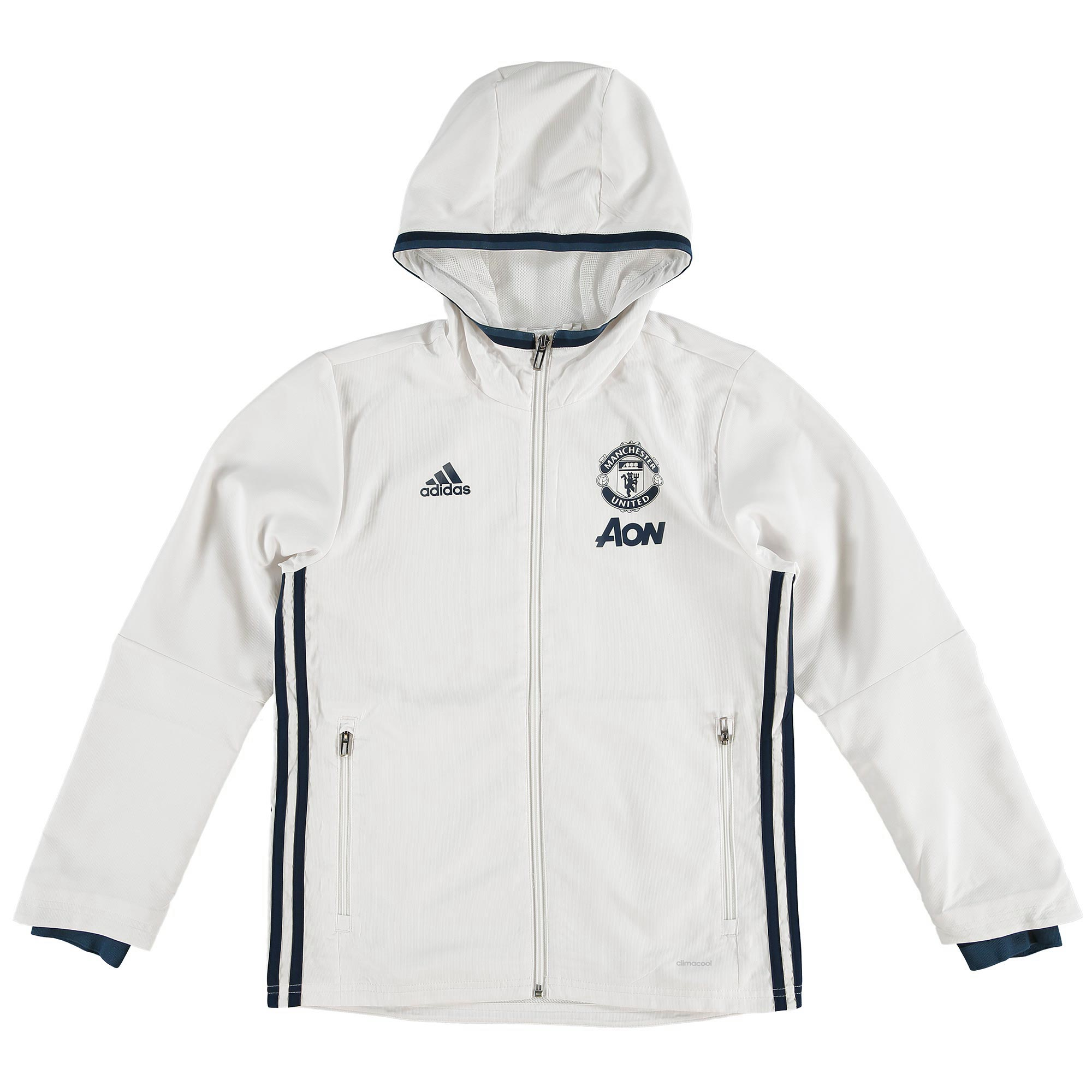 Manchester United Training Presentation Jacket - White - Kids