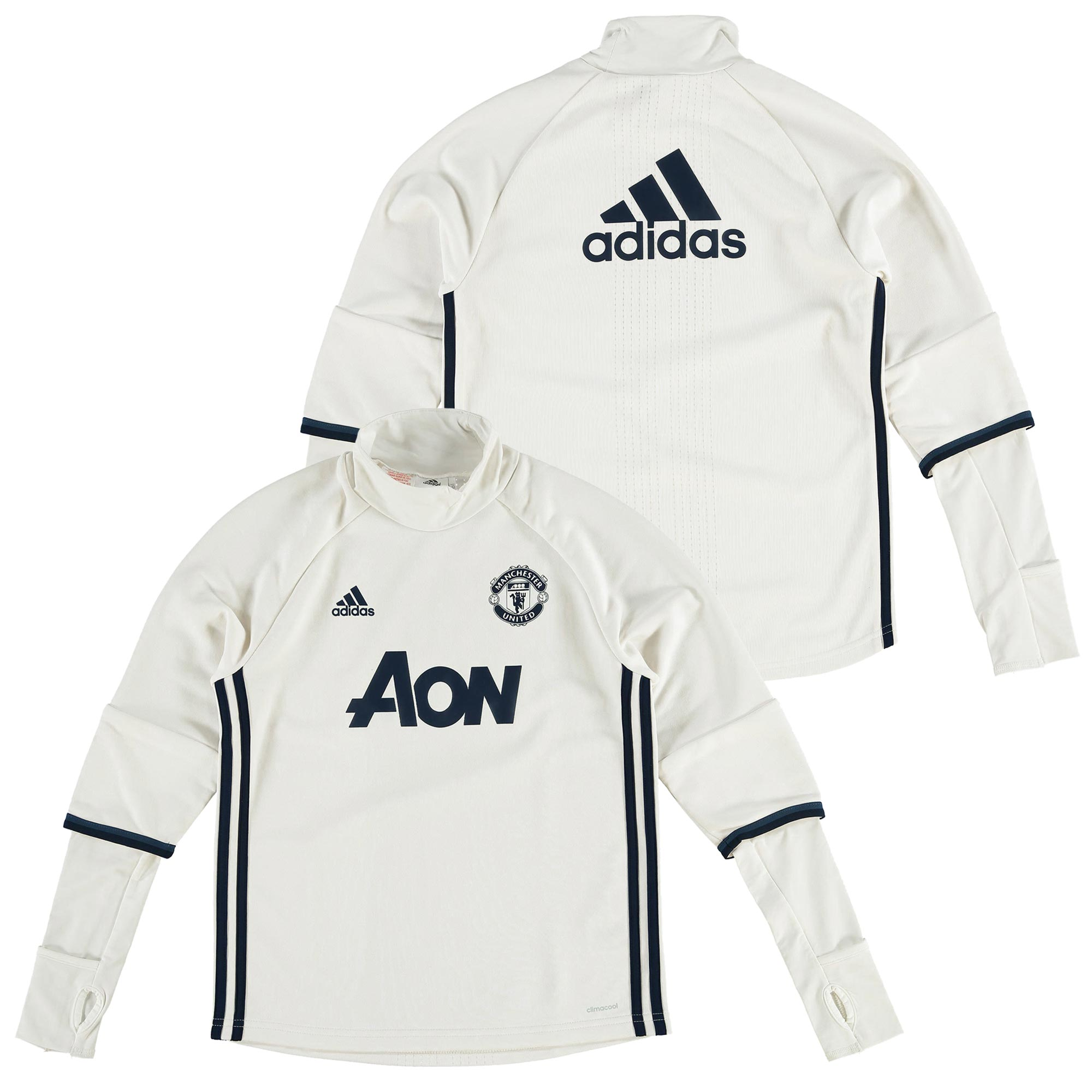 Manchester United Training Top - White - Kids