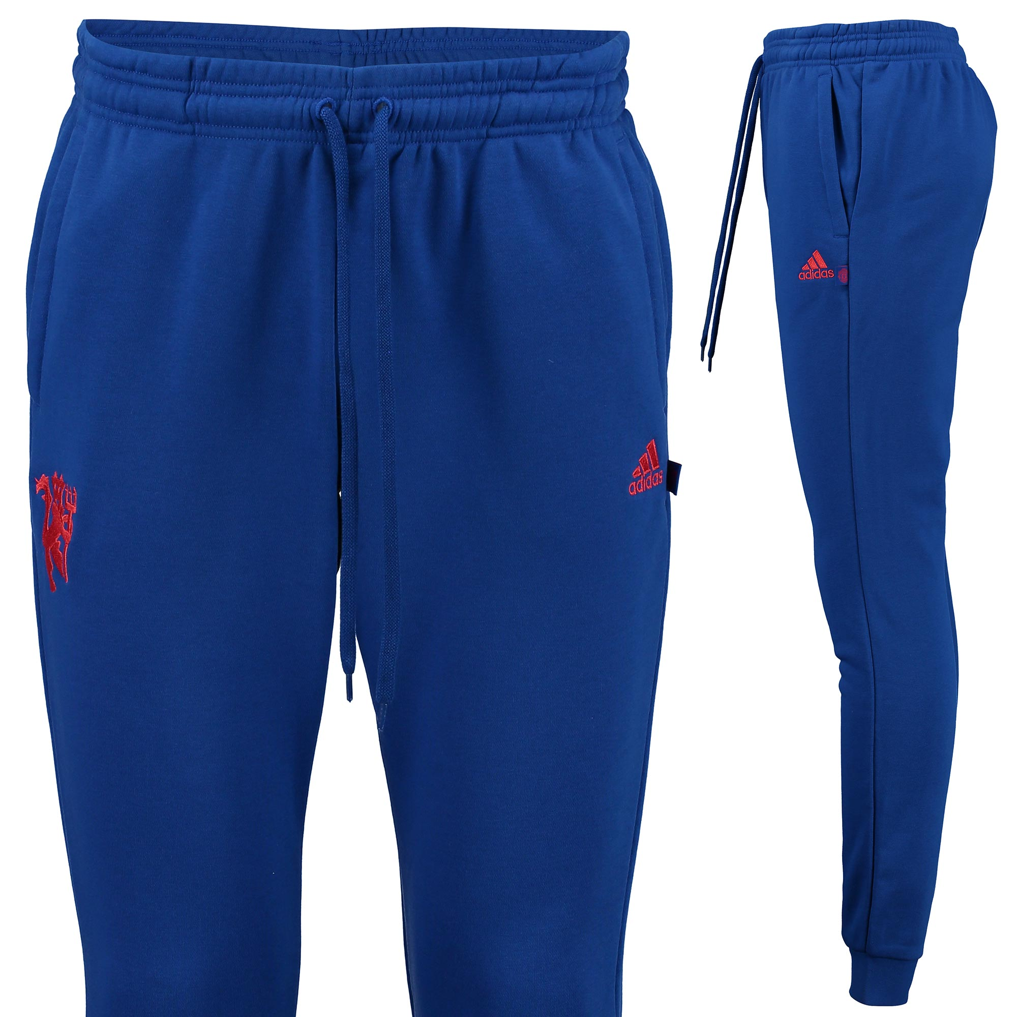 Manchester United Tapered Sweat Pant - Royal Blue