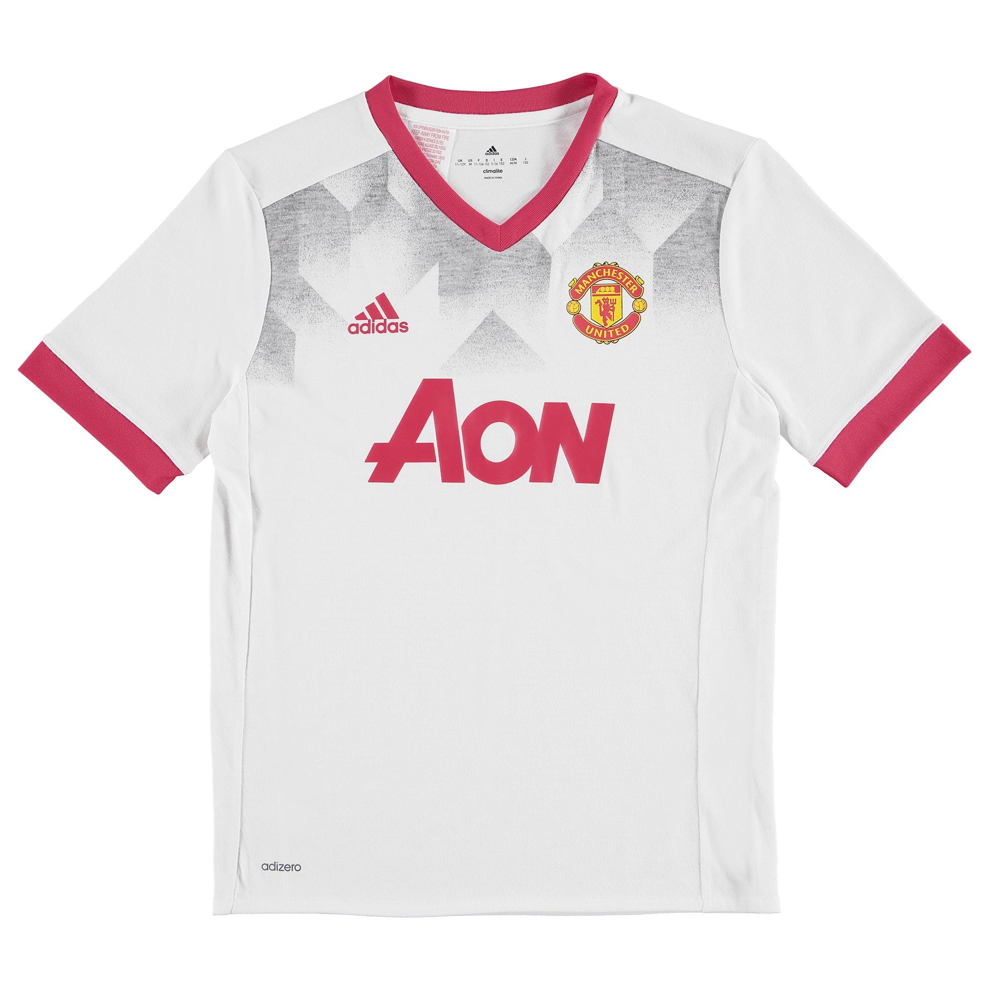 Manchester United Pre Match Shirt - White - Kids