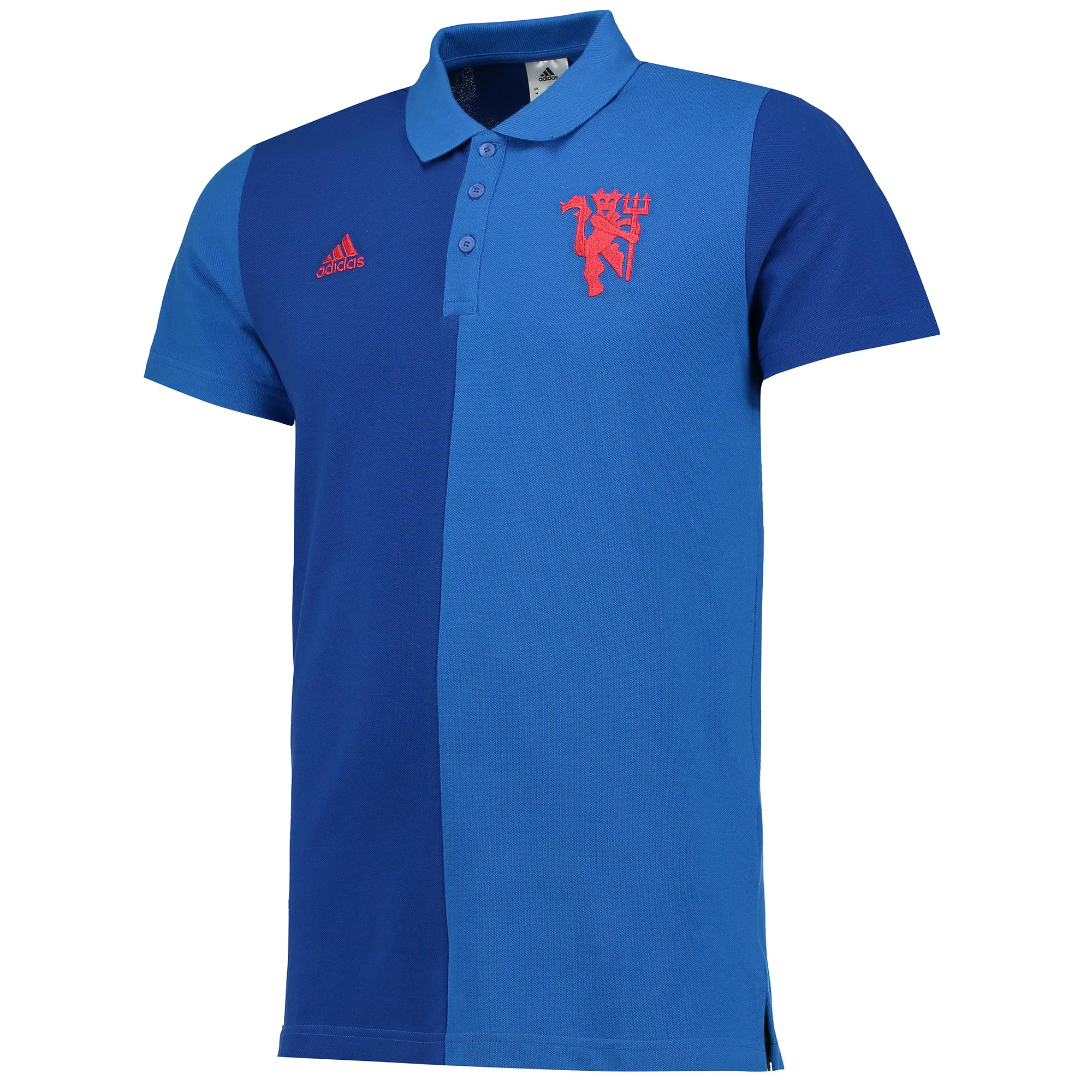 Manchester United Polo - Royal Blue