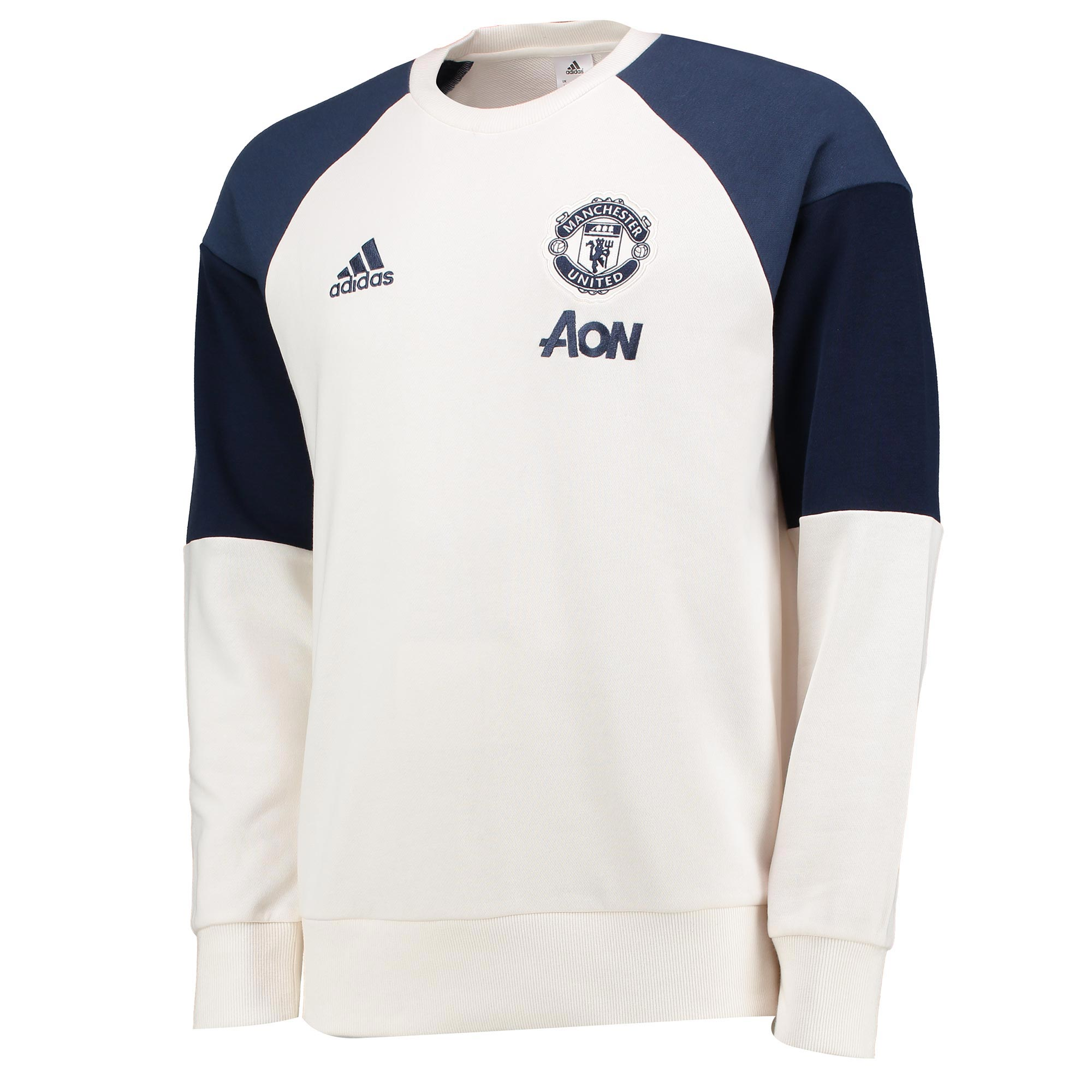 Manchester United Training Sweatshirt - White