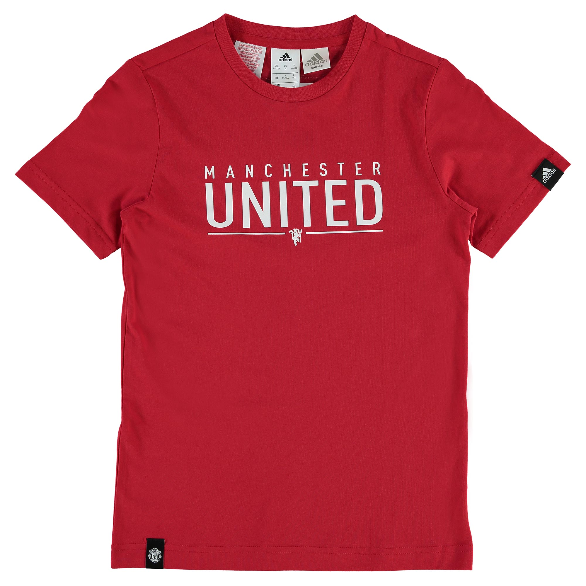 Manchester United Graphic T-Shirt - Red - Kids