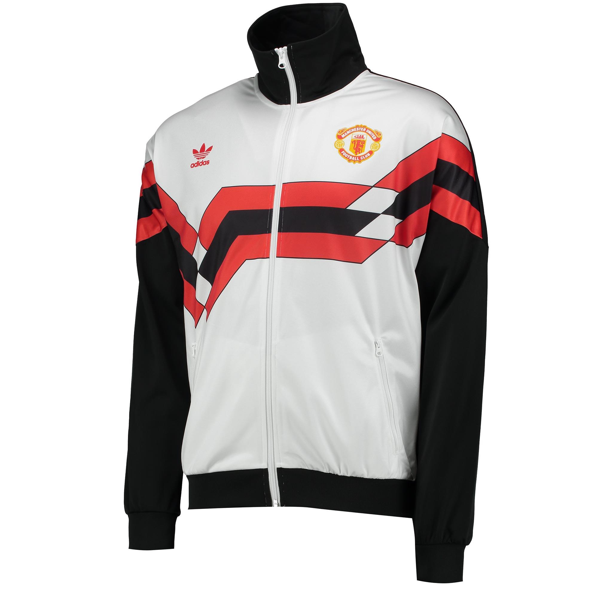 Manchester United Originals Track Top - White - Black